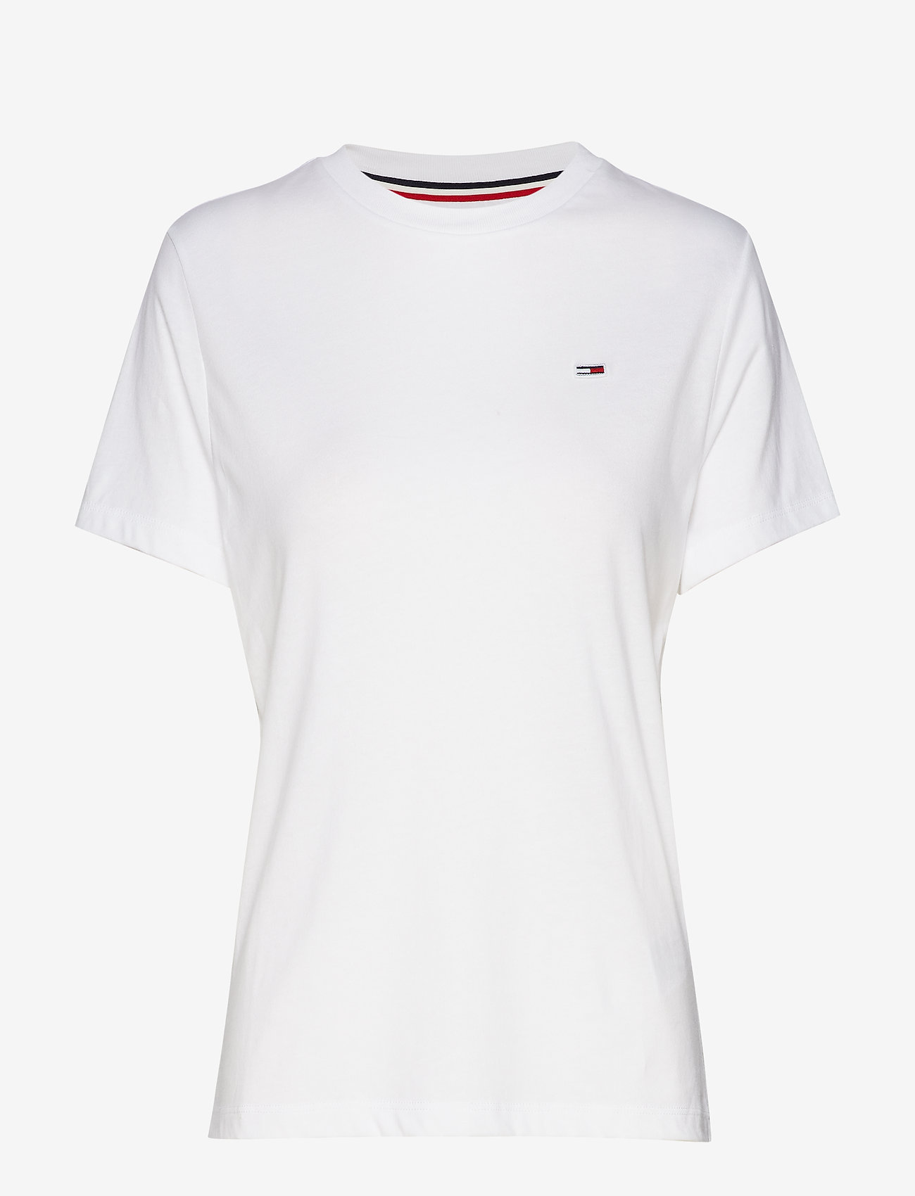 Tommy Jeans - TJW TOMMY CLASSICS T - t-shirts - classic white - 0