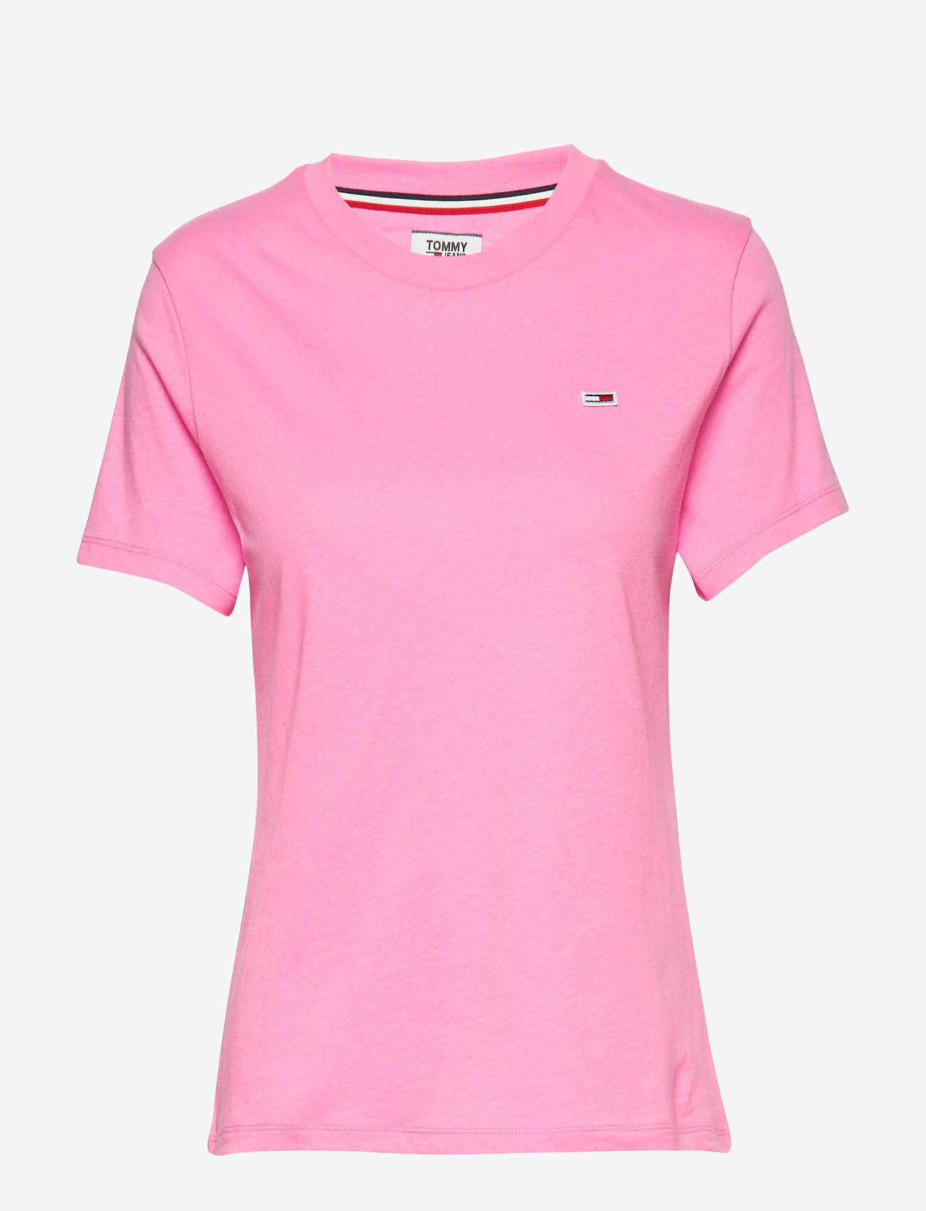Tommy Jeans - TJW TOMMY CLASSICS T - t-shirts - pink daisy - 0
