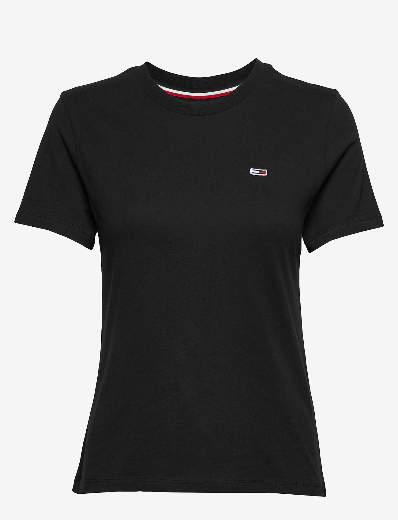Tommy Jeans - TJW TOMMY CLASSICS T - t-shirts - tommy black - 0