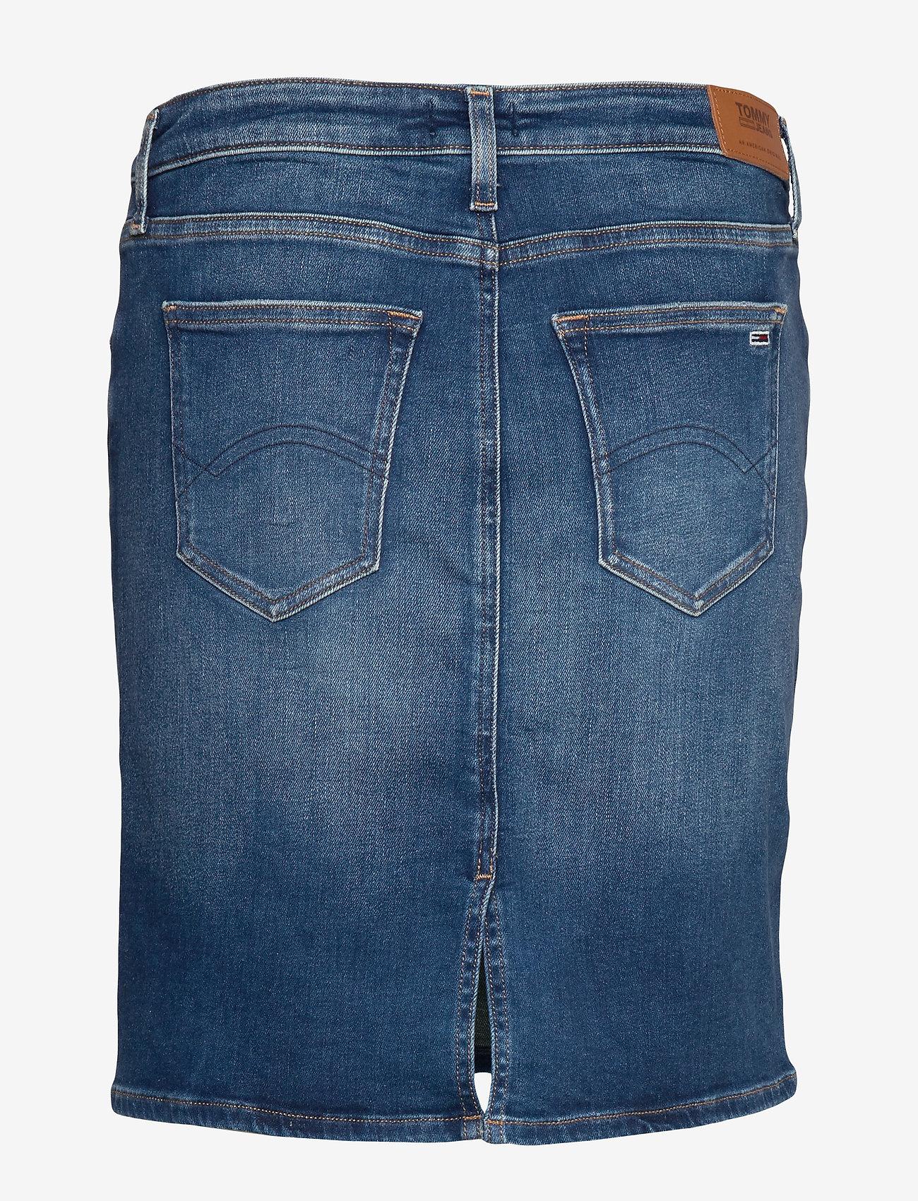 Tommy Jeans - CLASSIC DENIM SKIRT MNM - jupes en jeans - maine mid bl str - 1