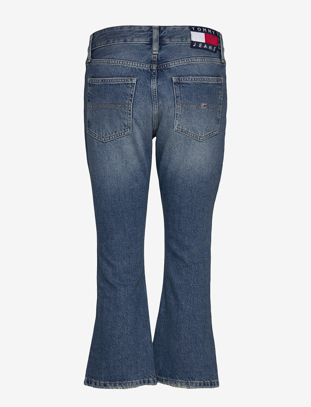 Tommy Jeans - CROP FLARE SNDM - flared jeans - sunday mid bl rig - 1