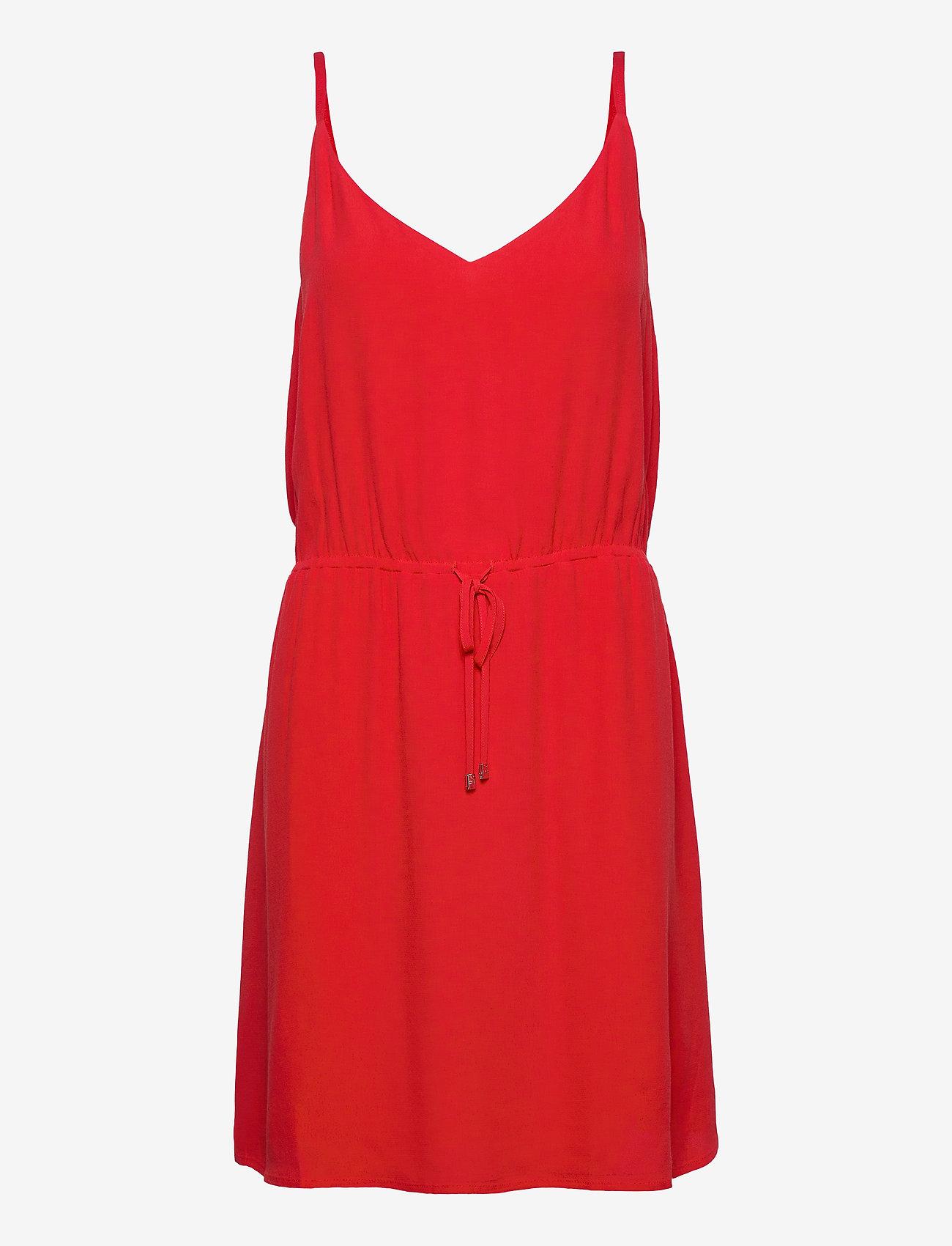 Tommy Jeans - TJW ESSENTIAL STRAP - short dresses - deep crimson - 0