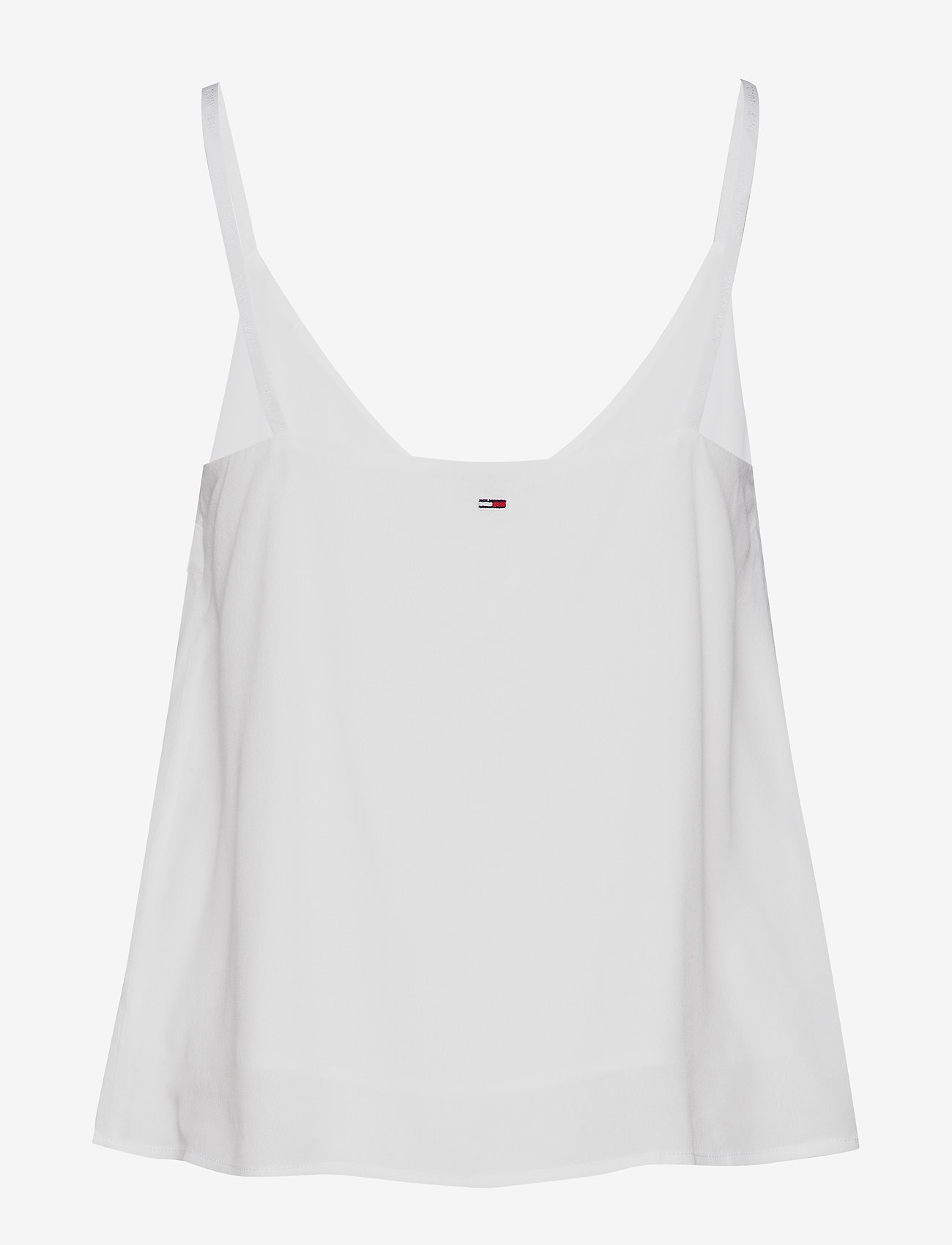 Tommy Jeans - TJW BRANDED STRAPS C - sleeveless tops - white - 1