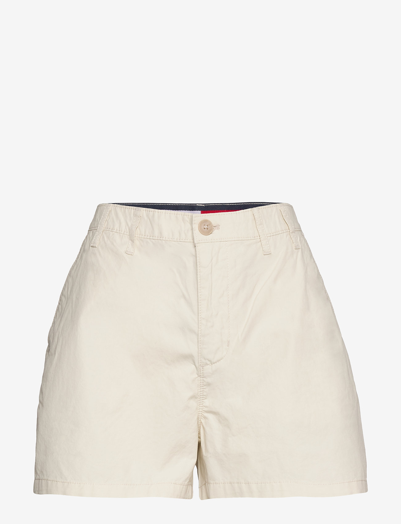 Tommy Jeans - TJW ESSENTIAL CHINO SHORT - chino shorts - light silt - 0