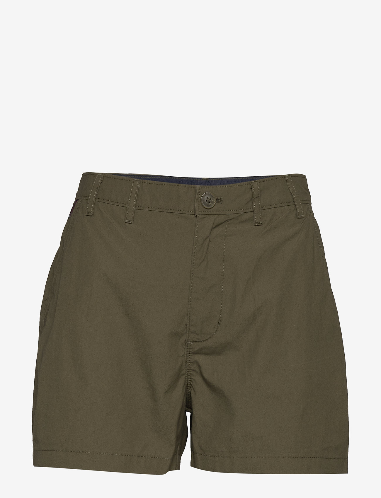 Tommy Jeans - TJW ESSENTIAL CHINO SHORT - chino shorts - olive tree - 0