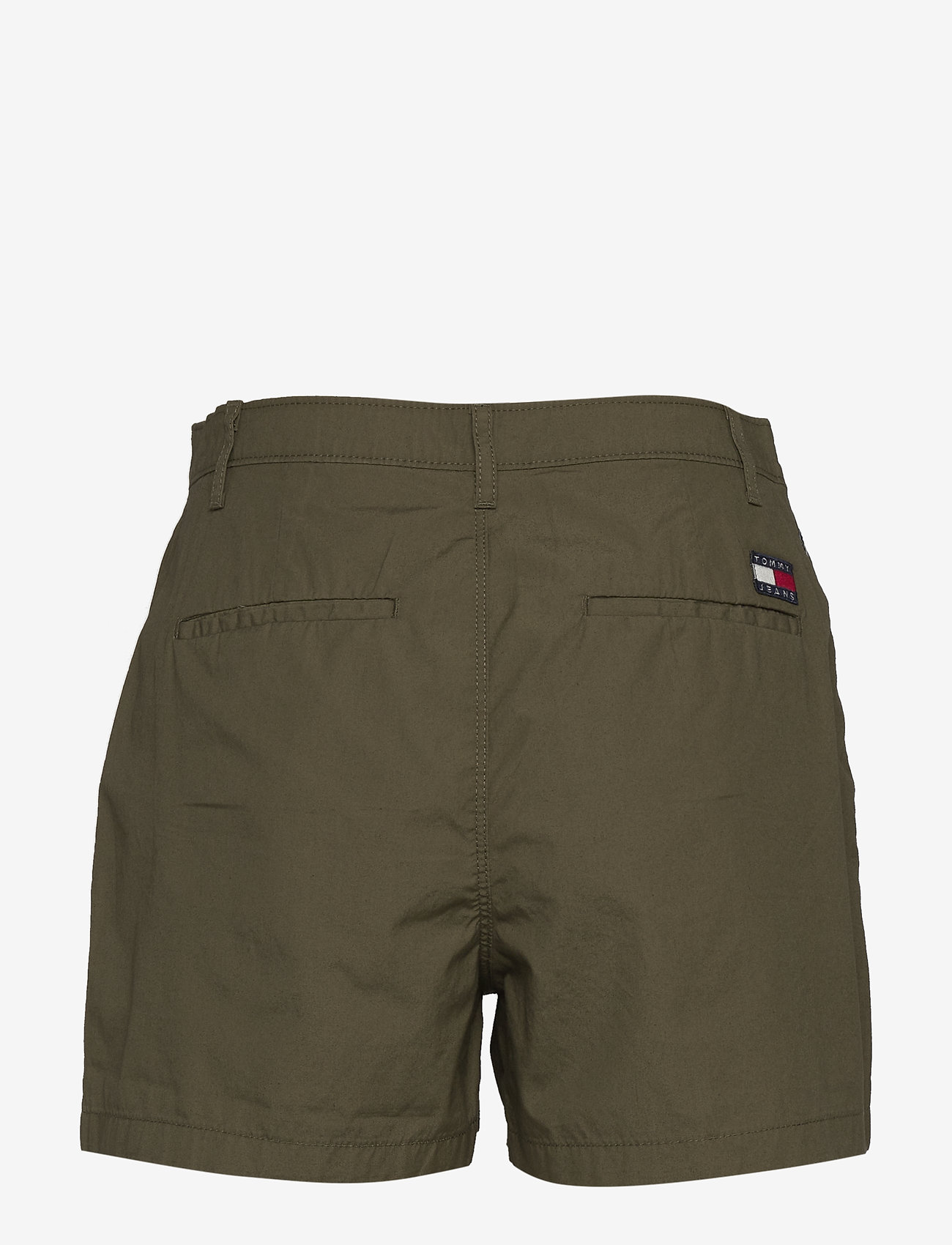 Tommy Jeans - TJW ESSENTIAL CHINO SHORT - chino shorts - olive tree - 1