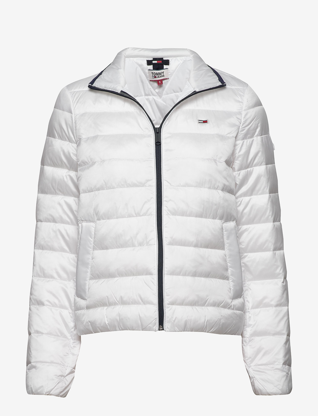 Tommy Jeans - TJW QUILTED ZIP THRU - padded jackets - white - 0