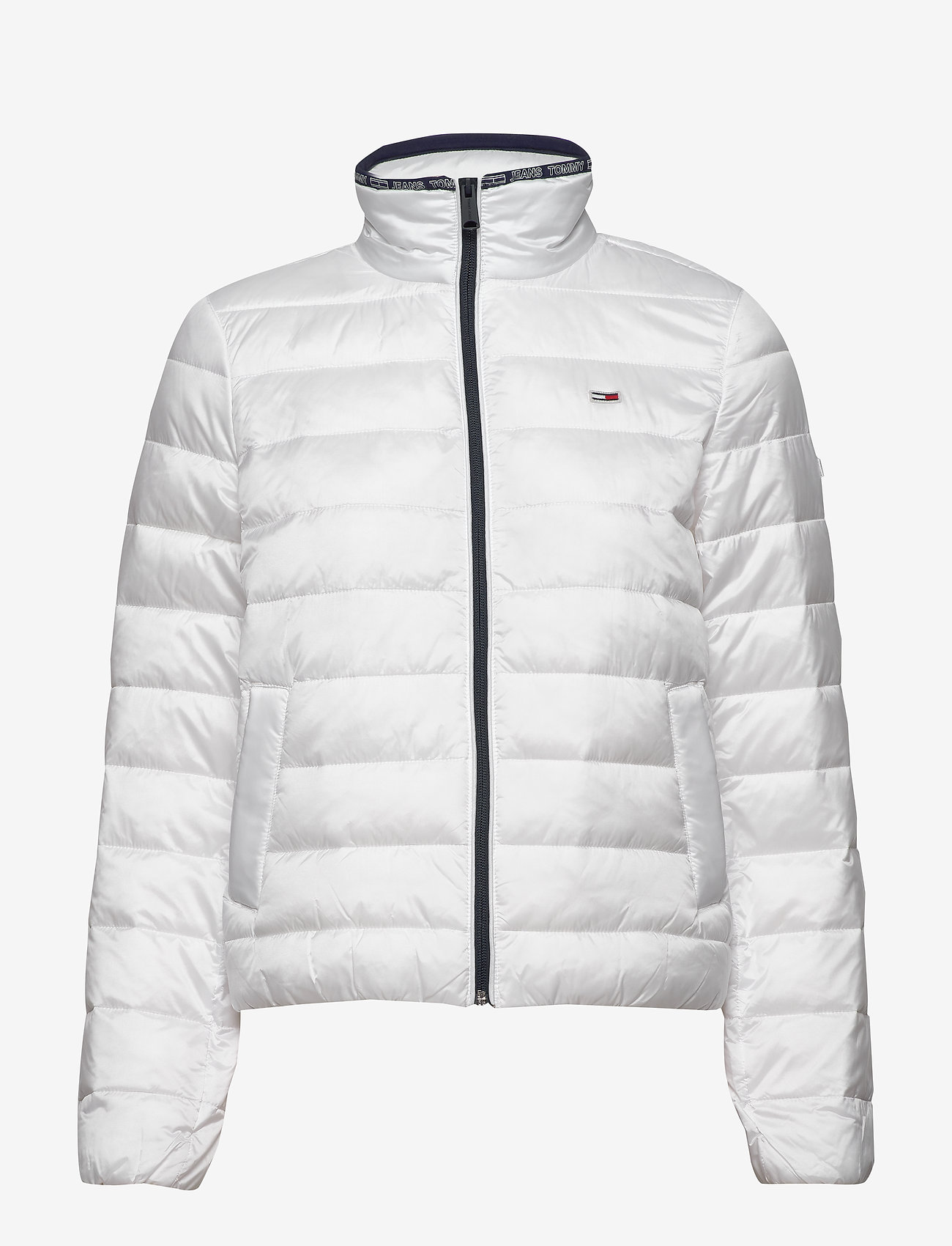 Tommy Jeans - TJW QUILTED ZIP THRU - padded jackets - white - 1