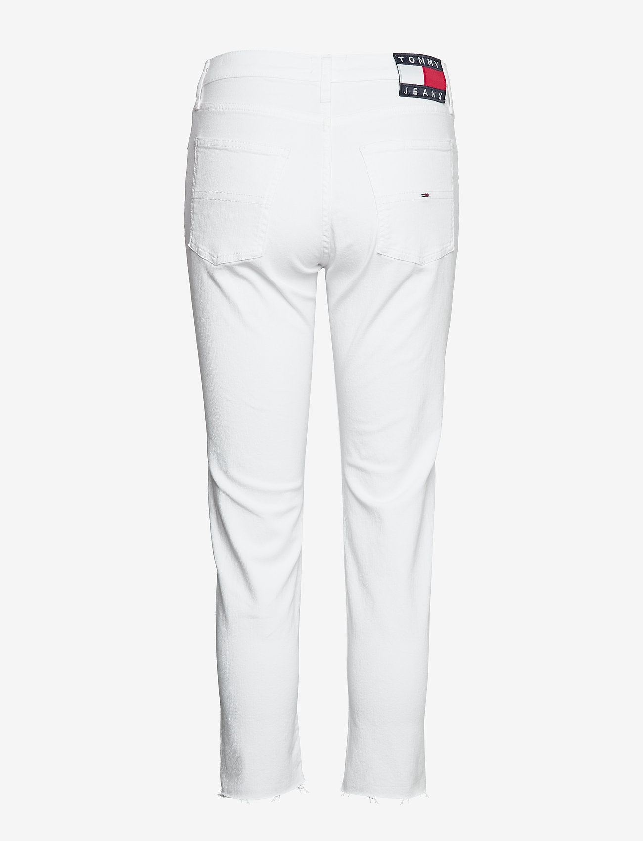Tommy Jeans - IZZY HR SLIM ANKLE MRWH - slim jeans - mars white com - 1