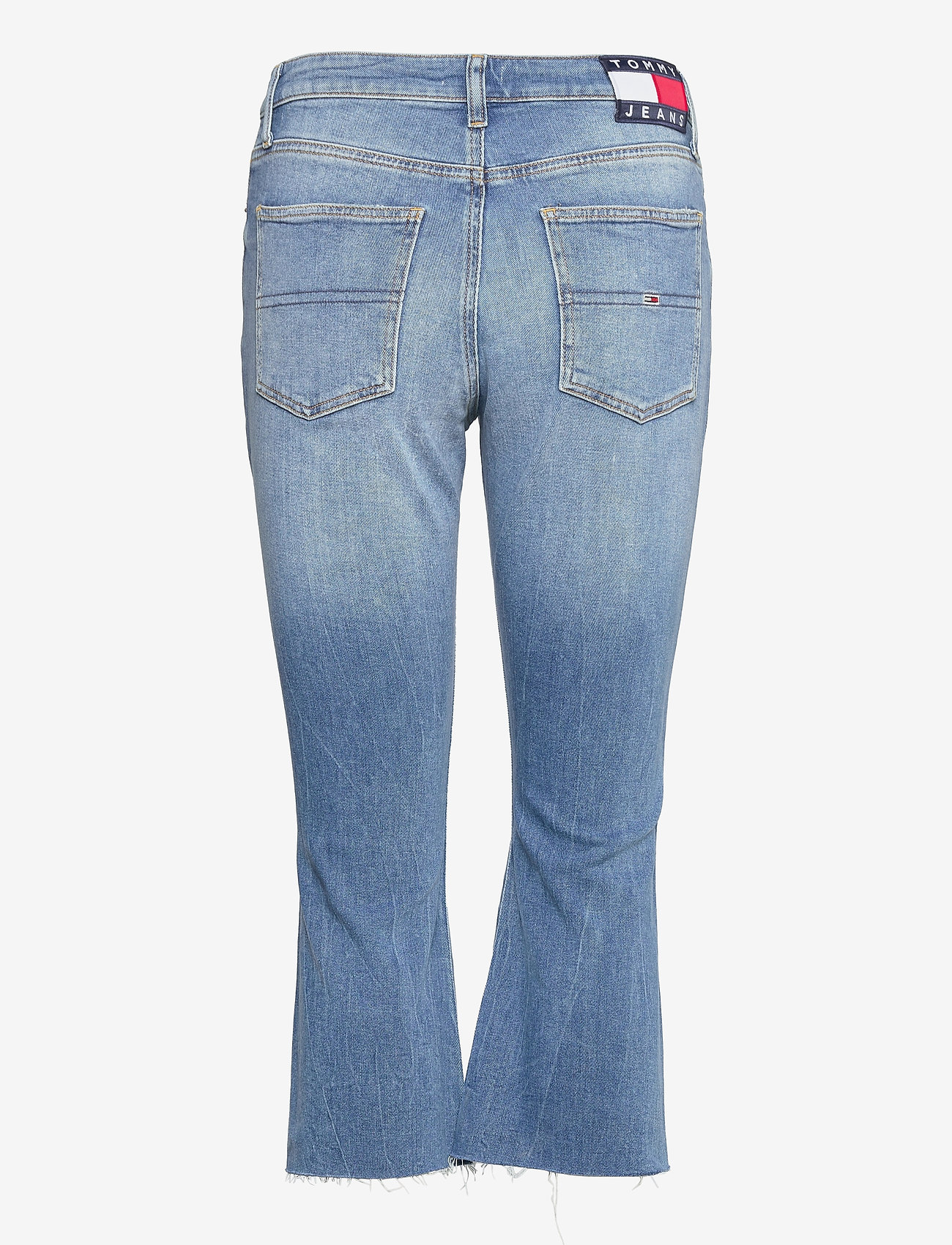 Tommy Jeans - KATIE CROP FLARE BF SMMB - schlaghosen - sima mid bl com - 1