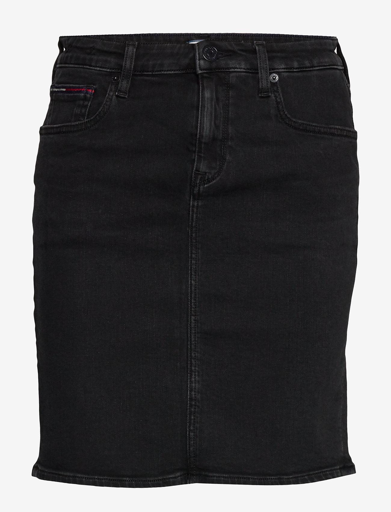 Tommy Jeans - CLASSIC DENIM SKIRT FRZBK - jupes en jeans - franzi bk str - 0