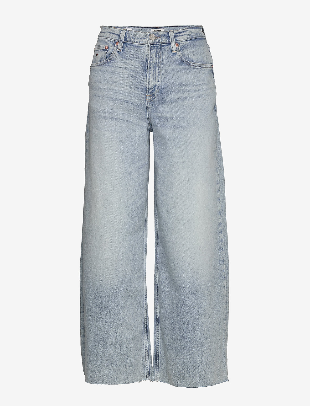 Tommy Jeans - MEG MR WIDE LEG ANKLE CNLBCF - brede jeans - cony light blue comfort - 0