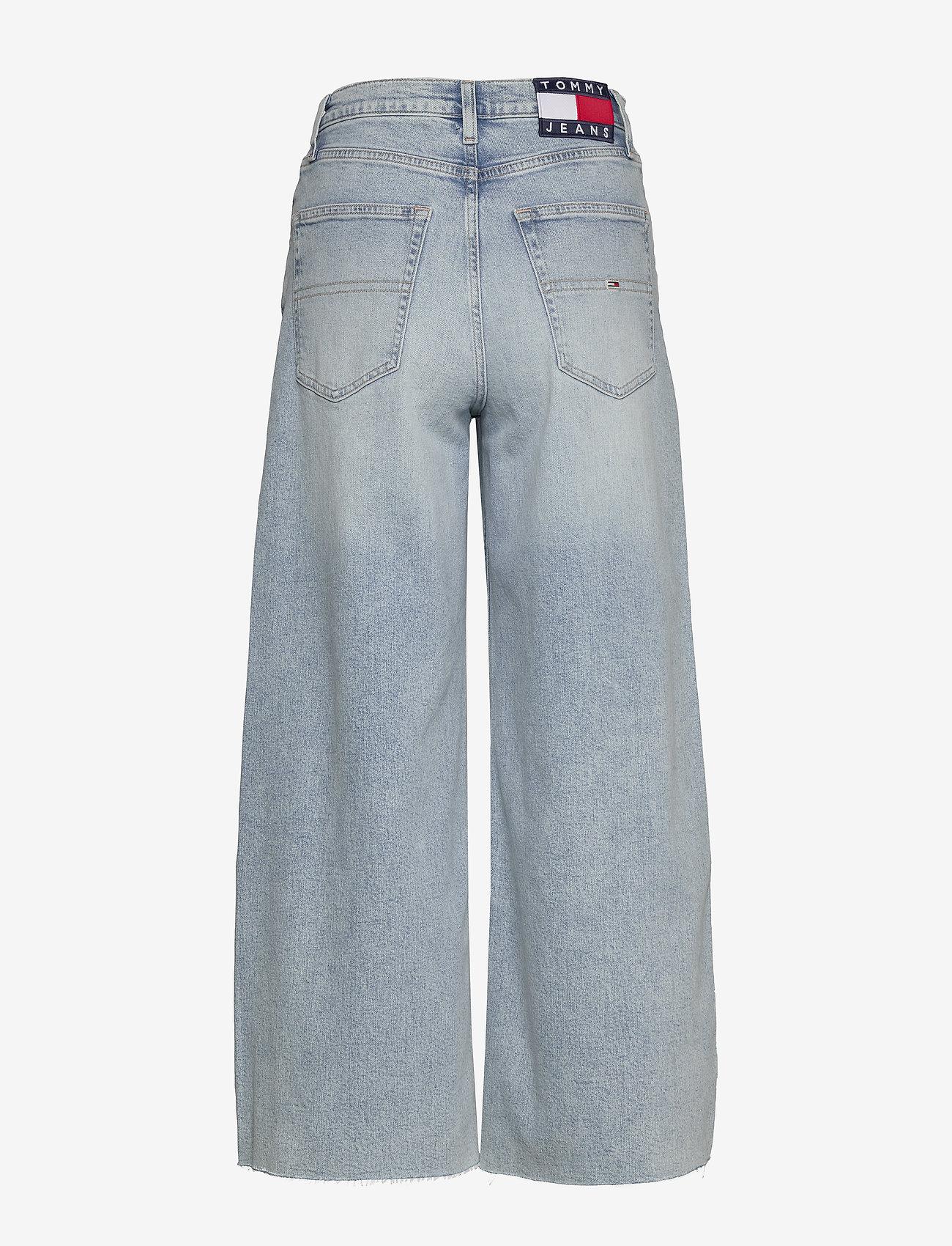 Tommy Jeans - MEG MR WIDE LEG ANKLE CNLBCF - brede jeans - cony light blue comfort - 1
