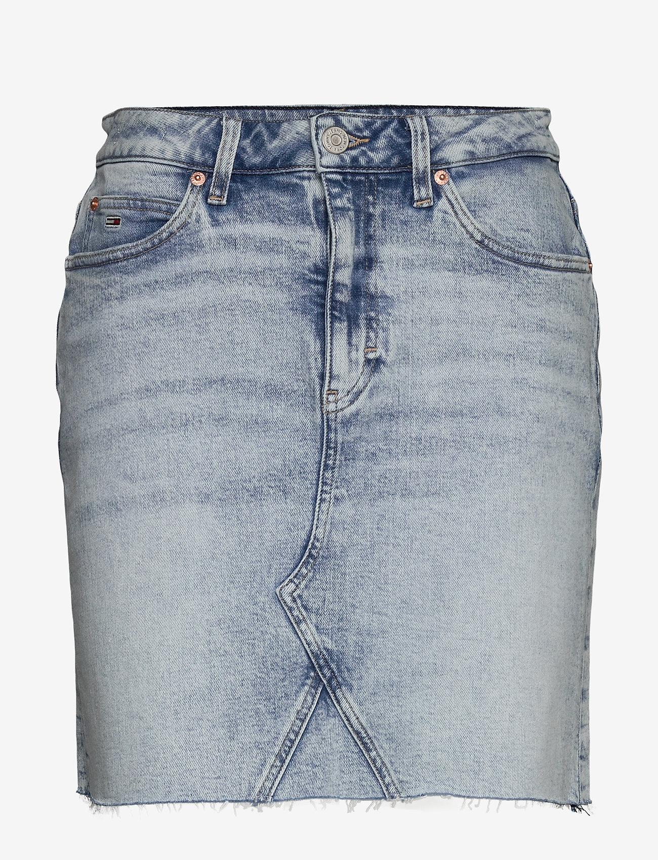 Tommy Jeans - SHORT DENIM SKIRT CNLBCF - jupes en jeans - cony light blue comfort - 0