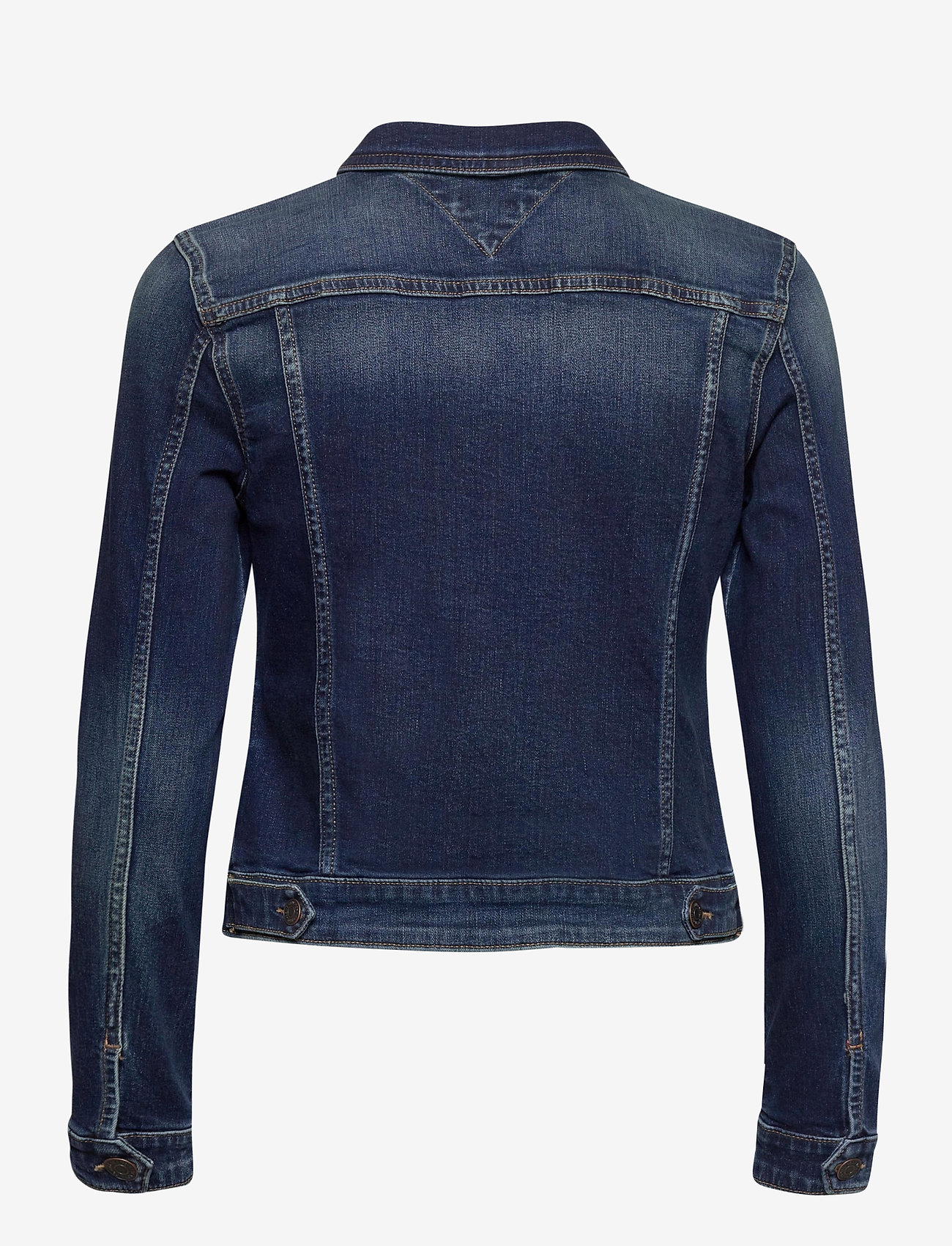 Tommy Jeans - VIVIANNE SLIM DENM TRUCKER BXDBS - denim jackets - box dark blue stretch - 1