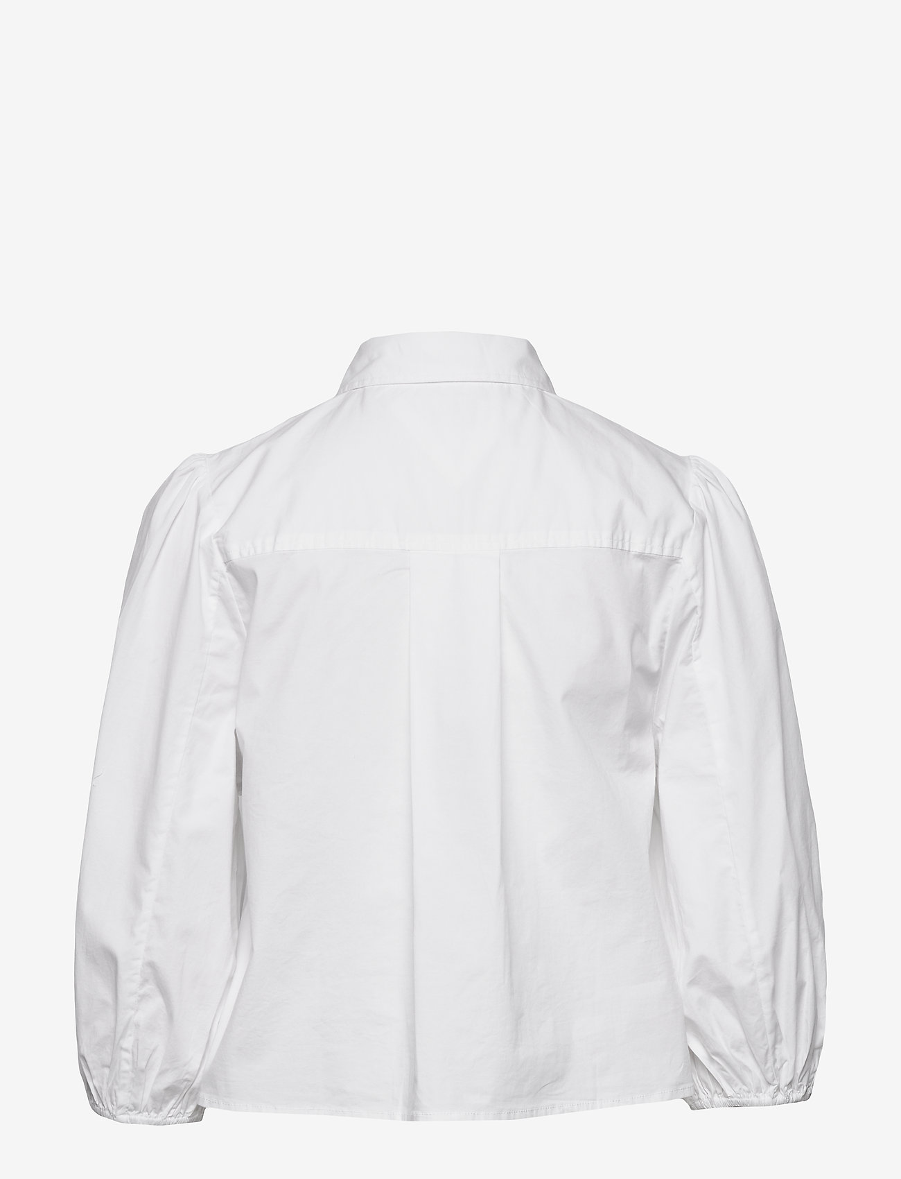 Tommy Jeans - TJW PUFFY SLEEVE SHIRT - chemises à manches longues - white - 1