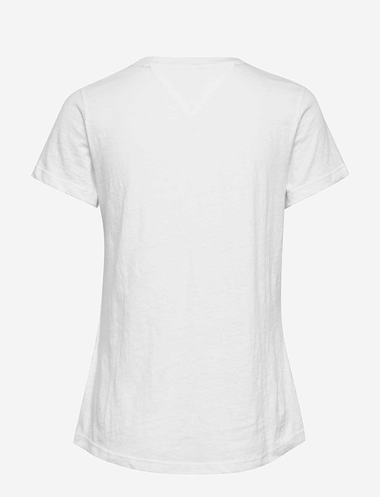 Tommy Jeans - TJW TEXTURE TEE - t-shirts - white - 1