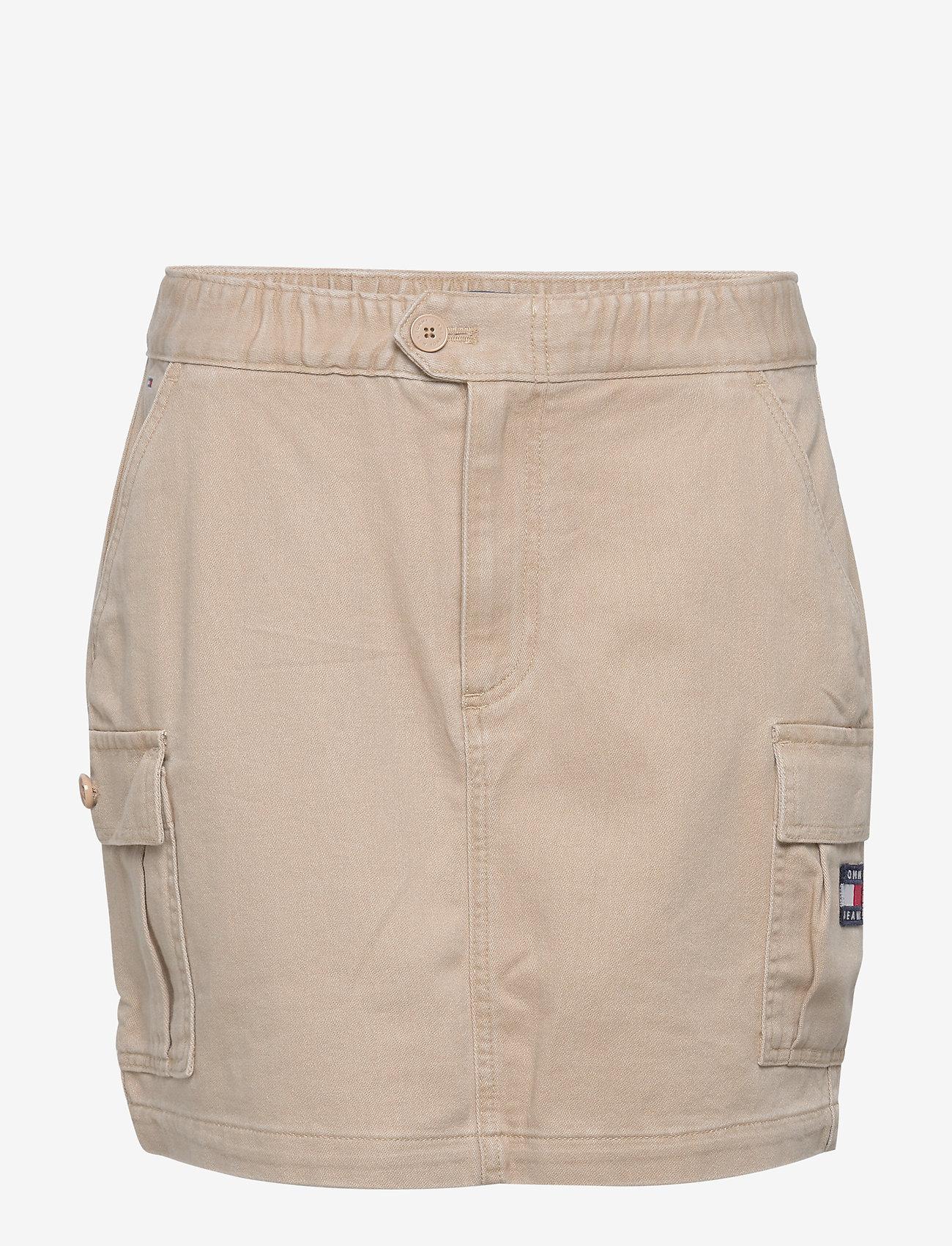 Tommy Jeans - TJW CARPENTER SKIRT - jupes courtes - soft beige - 0