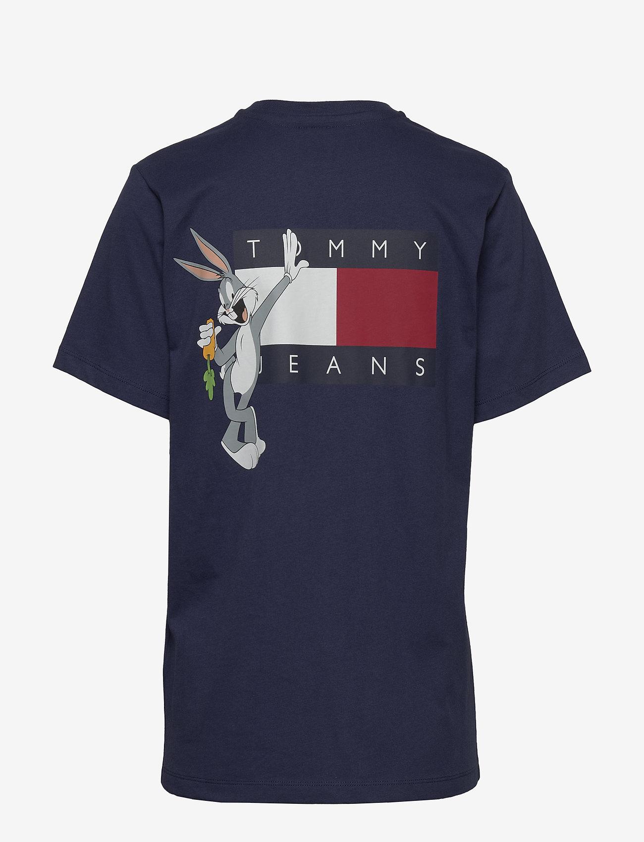 Tommy Jeans - TJW LOONEY TUNES TEE - logo t-shirts - dark ink