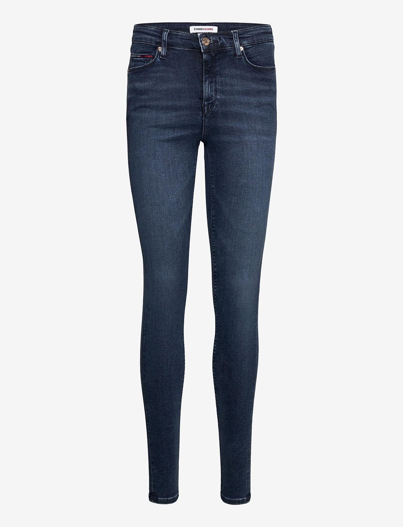 Tommy Jeans - NORA MR SKNY DYLDBS - straight jeans - dynamic lora dark blue str - 0