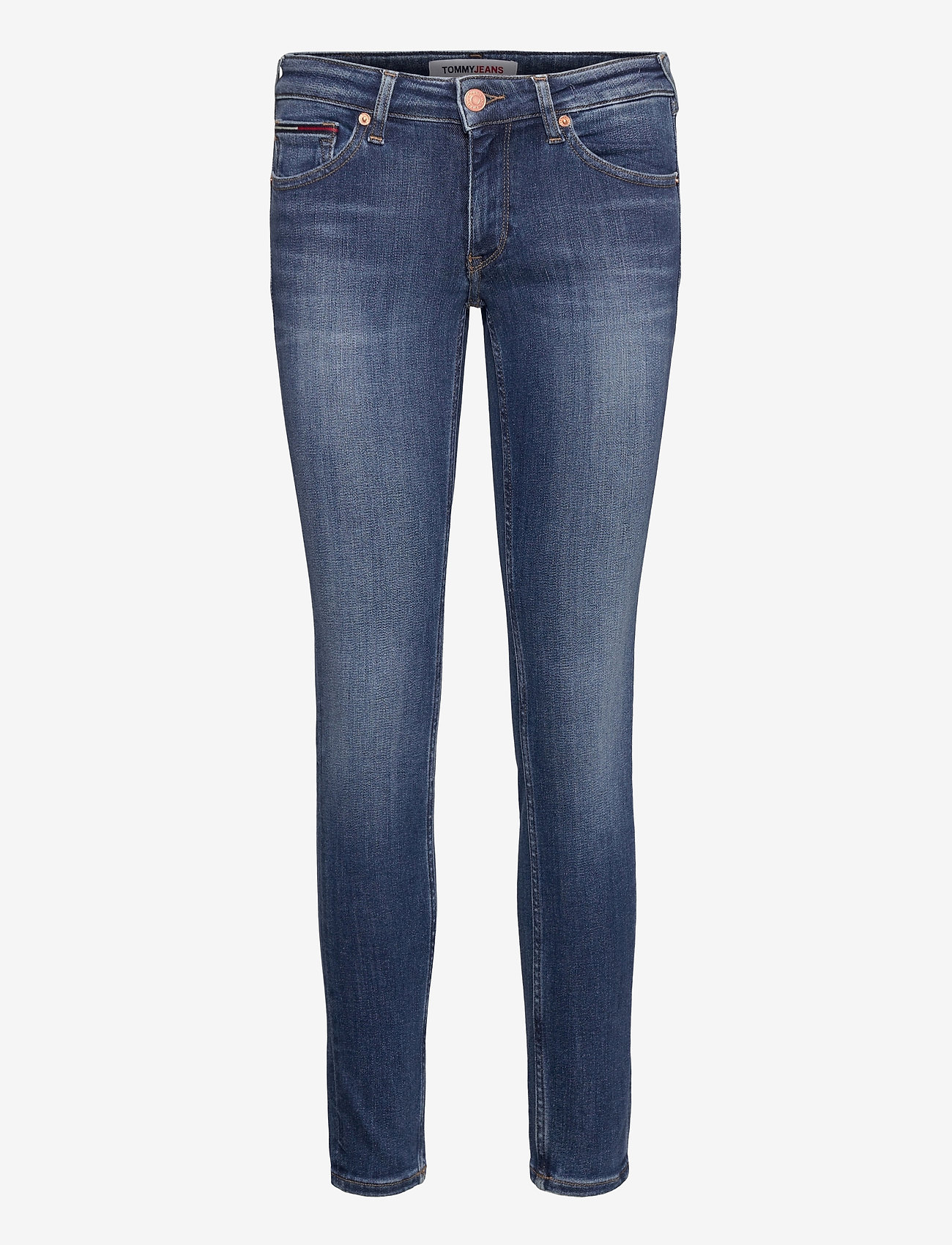 Tommy Jeans - SOPHIE LR SKNY HLDBST - skinny jeans - harlow dark blue str - 0