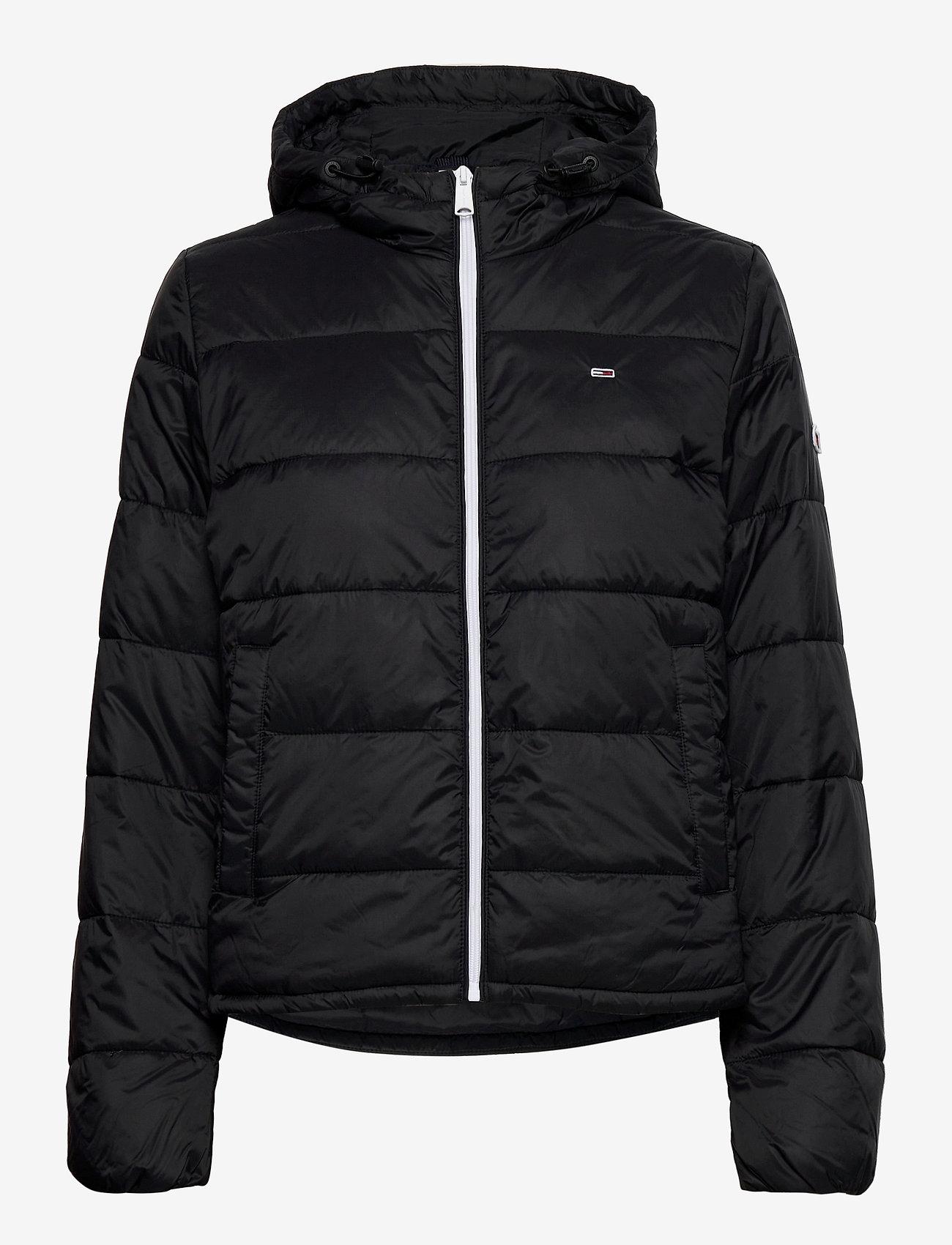 Tommy Jeans - TJW SIDE SLIT JACKET - down- & padded jackets - black - 1