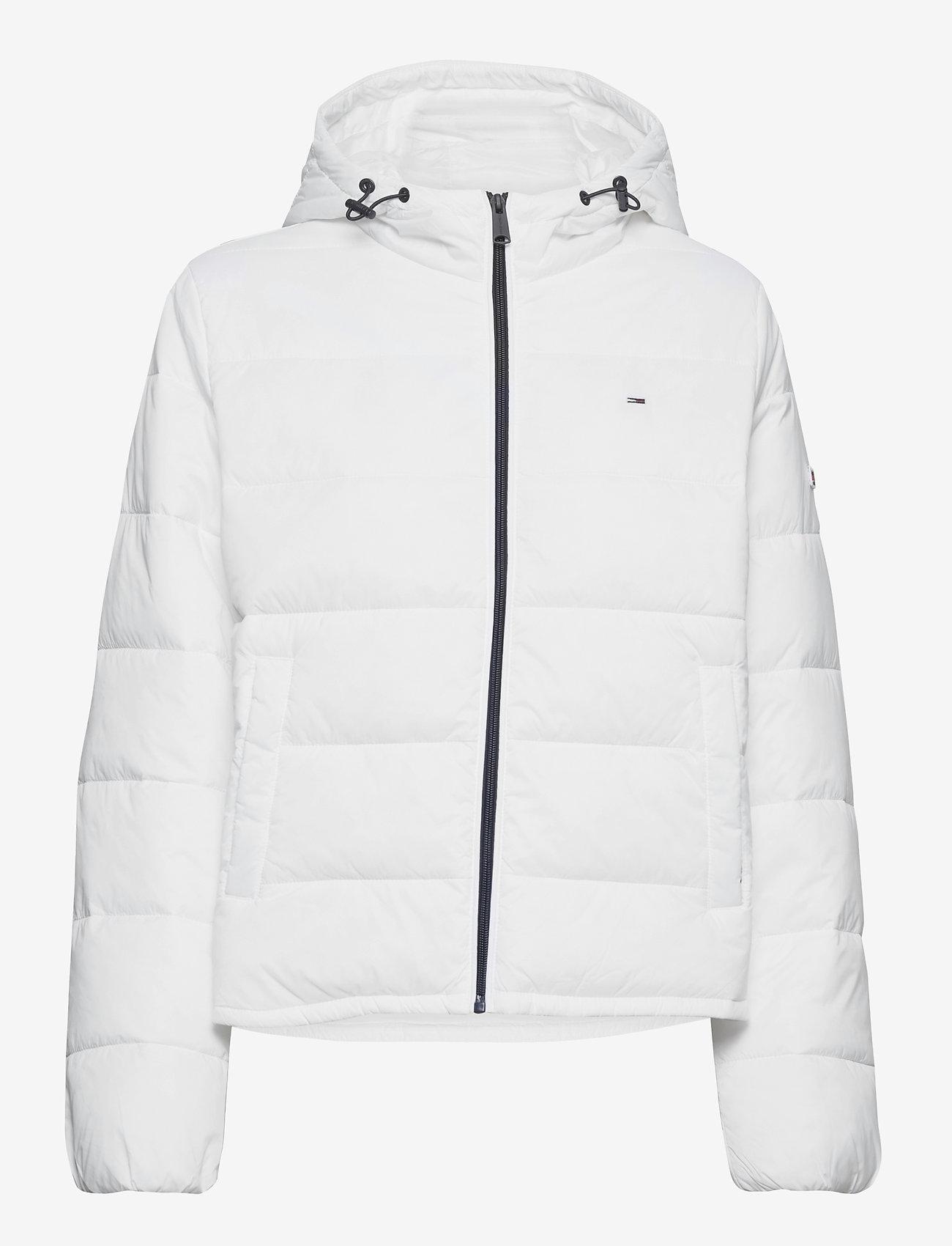 Tommy Jeans - TJW SIDE SLIT JACKET - down- & padded jackets - white - 1