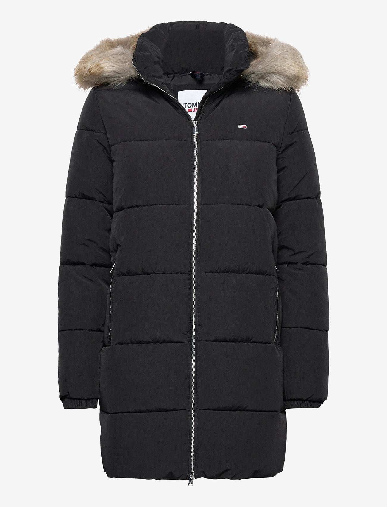 Tommy Jeans - TJW MODERN PUFFA COAT - padded coats - black - 0