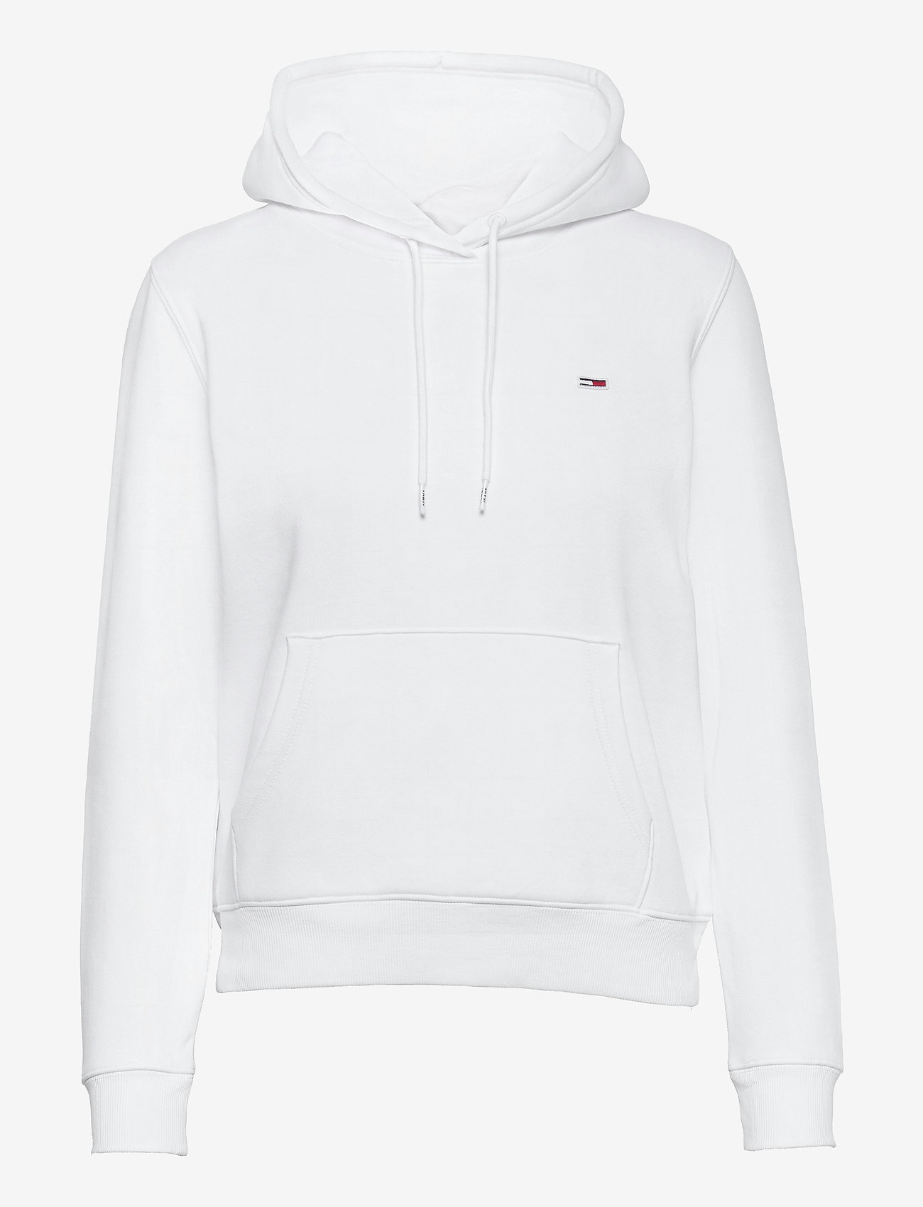 Tommy Jeans - TJW REGULAR FLEECE HOODIE - sweatshirts & hoodies - white - 0