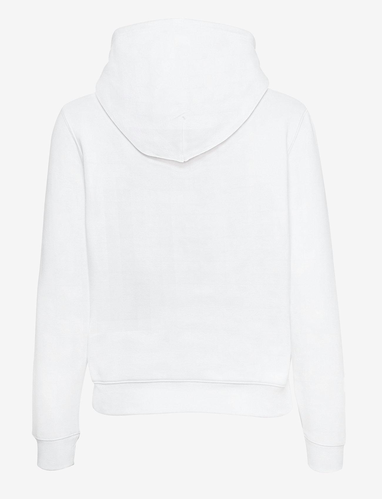 Tommy Jeans - TJW REGULAR FLEECE HOODIE - sweatshirts & hoodies - white - 1