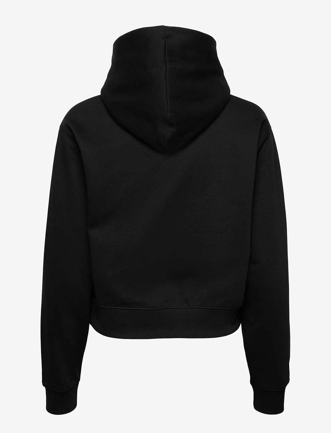 Tommy Jeans - TJW RELAXED CROP LOGO HOODIE - sweatshirts & hoodies - black - 1