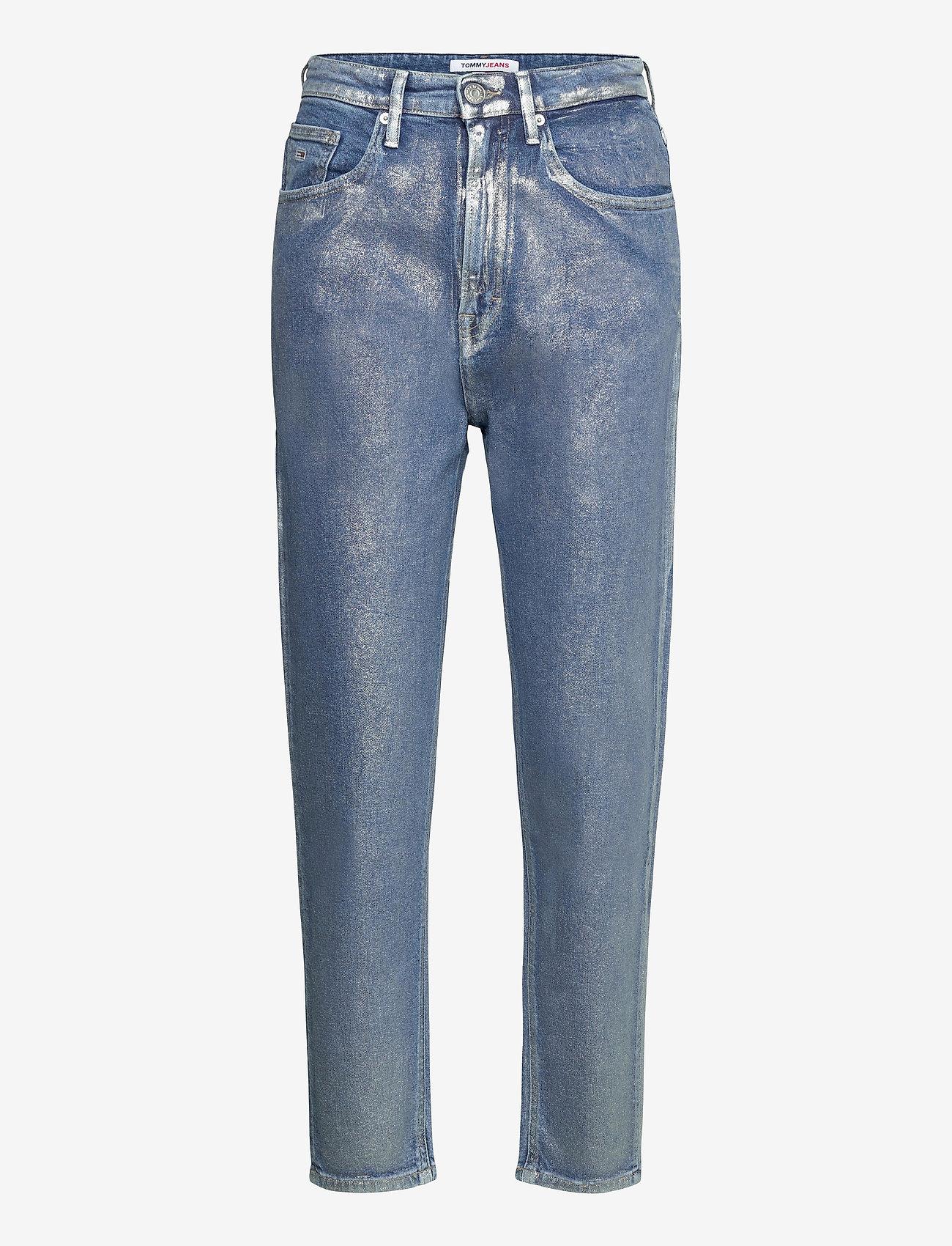 Tommy Jeans - MOM JEAN HR TPRD MTLC - mammajeans - metallic com - 0