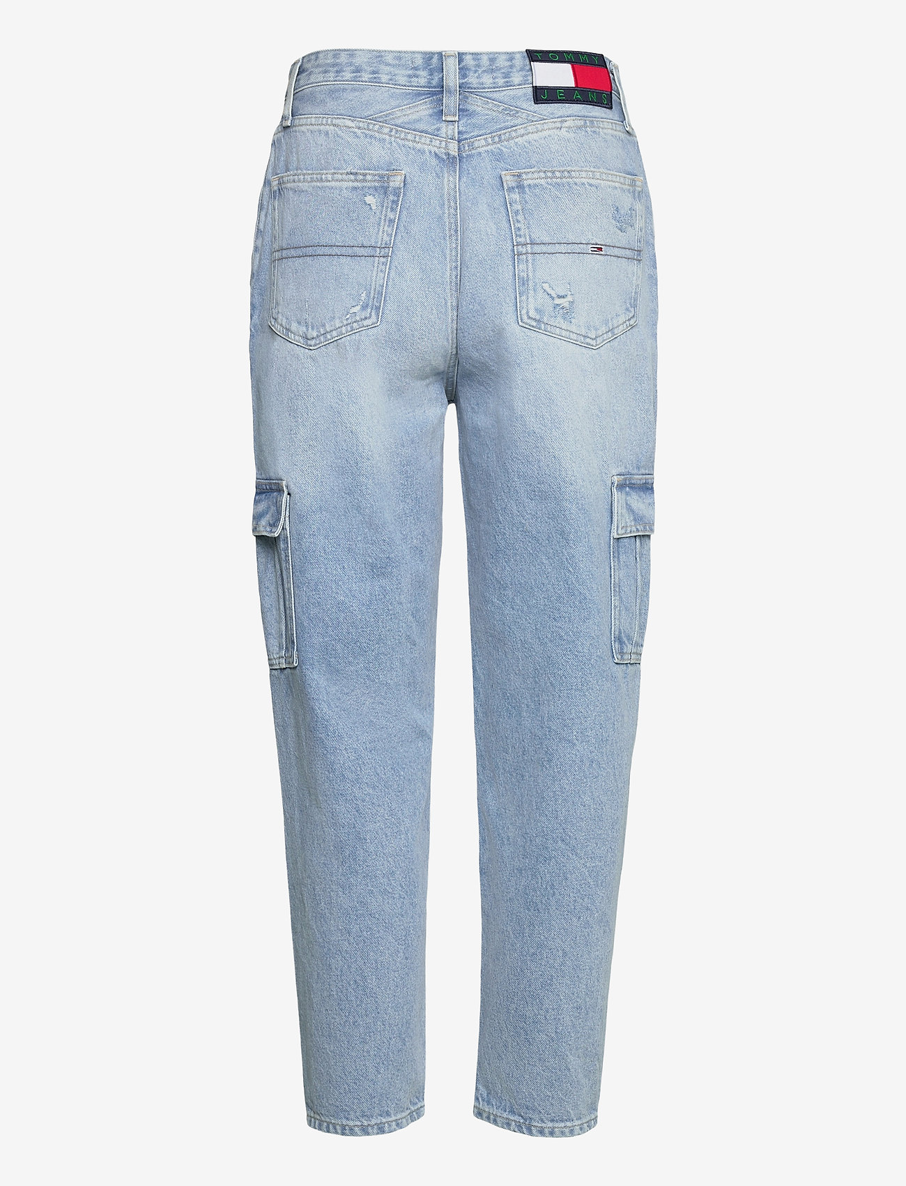 Tommy Jeans - MOM JEAN CARGO SVLBR - mom jeans - save ps lb rig dest - 1