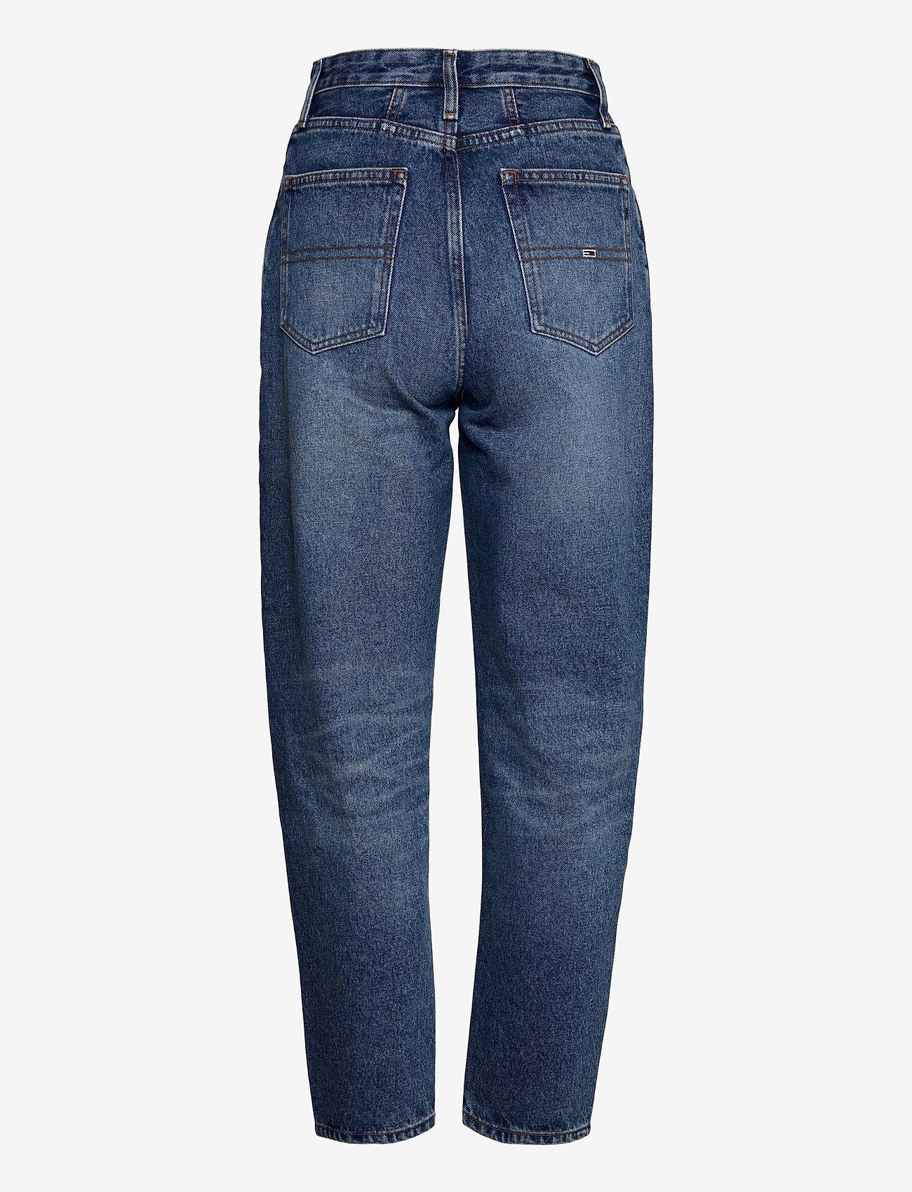 Tommy Jeans - MOM JEAN ULTRA HR TPRD EMF SPMBR - mom jeans - emf sp mb rgd - 1