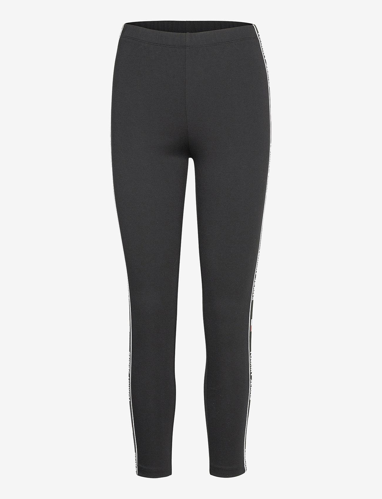 Tommy Jeans - TJW ESSENTIAL TAPE LEGGING - leggings - black - 0
