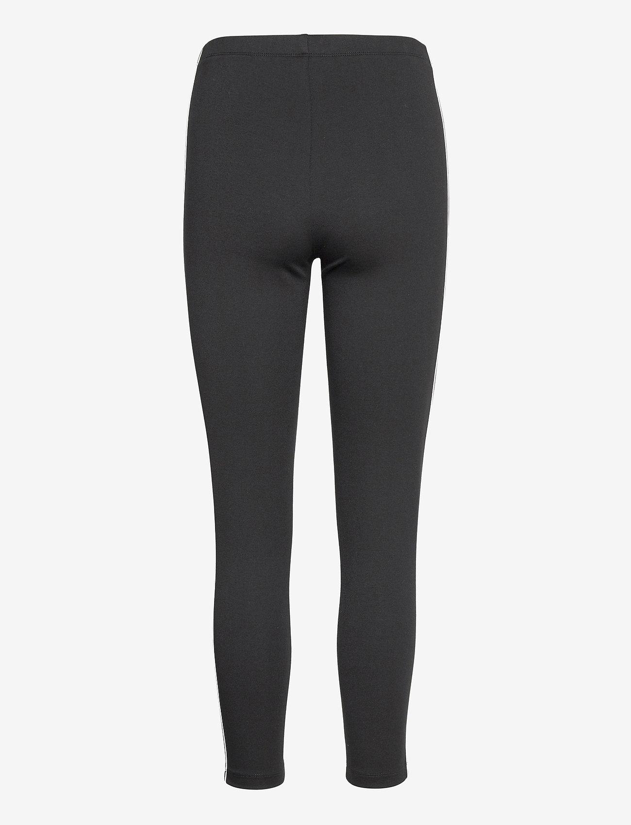 Tommy Jeans - TJW ESSENTIAL TAPE LEGGING - leggings - black - 1