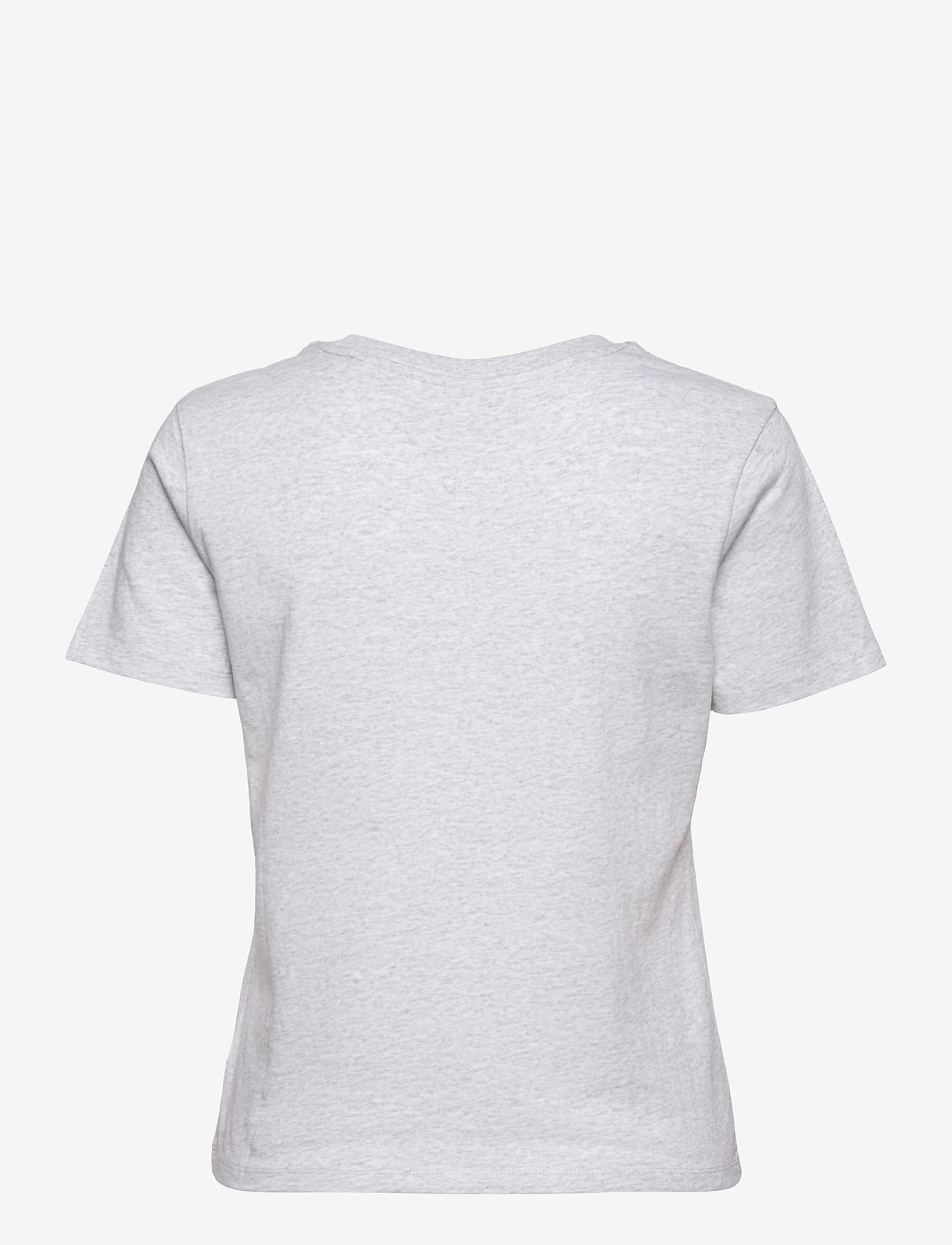 Tommy Jeans - TJW REGULAR TIMELESS BOX TEE - t-shirts - silver grey htr - 1