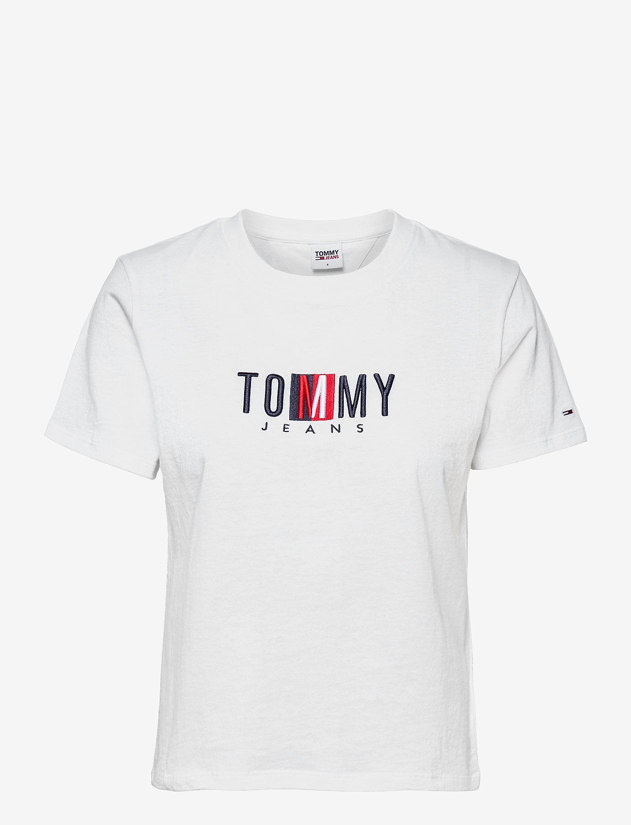 Tommy Jeans - TJW REGULAR TIMELESS BOX TEE - t-shirts - white - 0