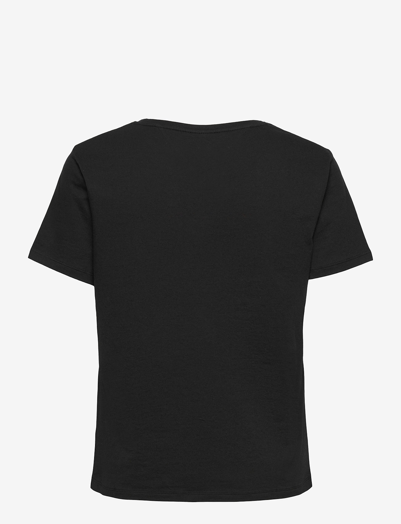 Tommy Jeans - TJW SLIM MULTI LINEAR LOGO - t-shirts - black - 1