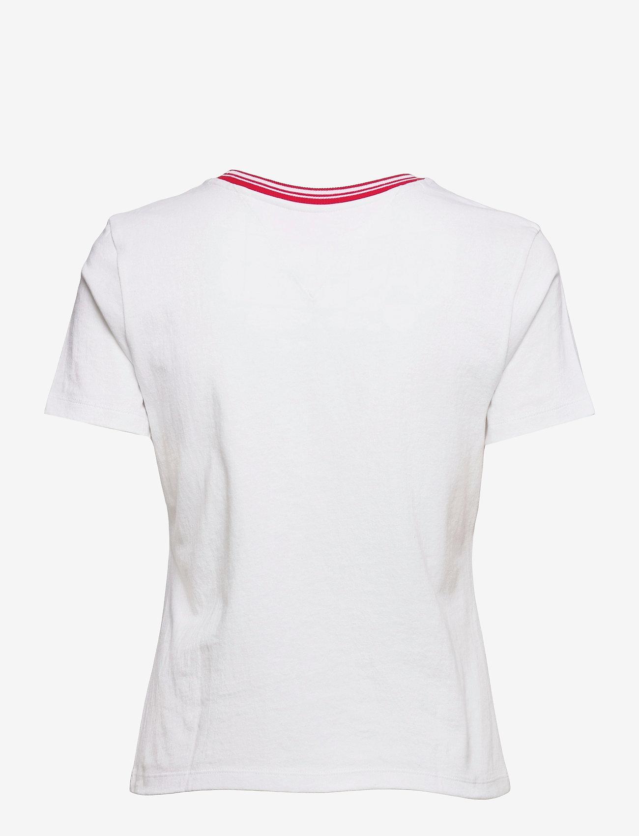 Tommy Jeans - TJW REGULAR TIMELESS SCRIPT TEE - t-shirts - white - 1
