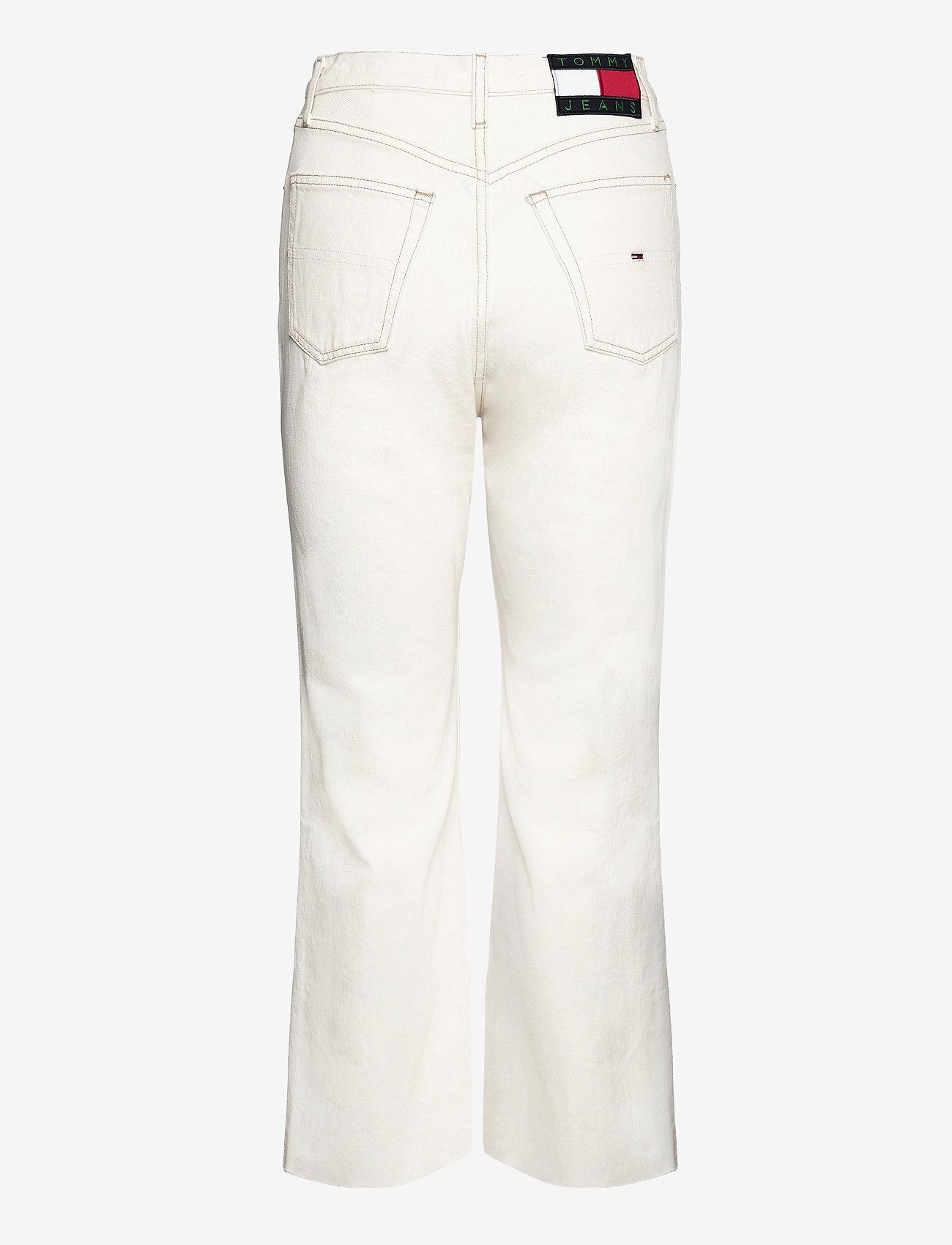 Tommy Jeans - HARPER HR FLARE ANKLE BF SSPWR - schlaghosen - save sp white rgd - 1