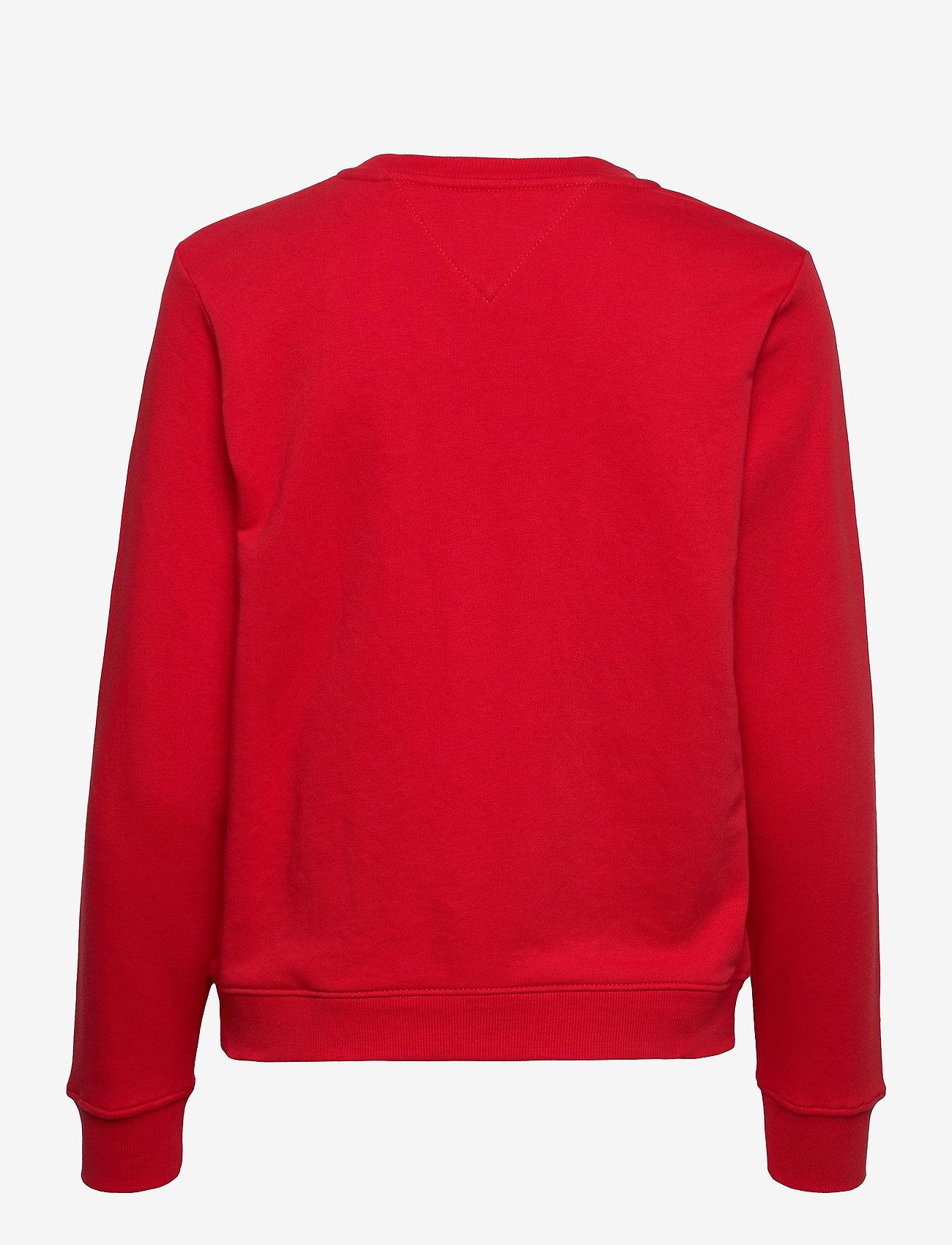Tommy Jeans - TJW REGULAR ESSENTIAL LOGO - sweatshirts & hoodies - deep crimson - 1