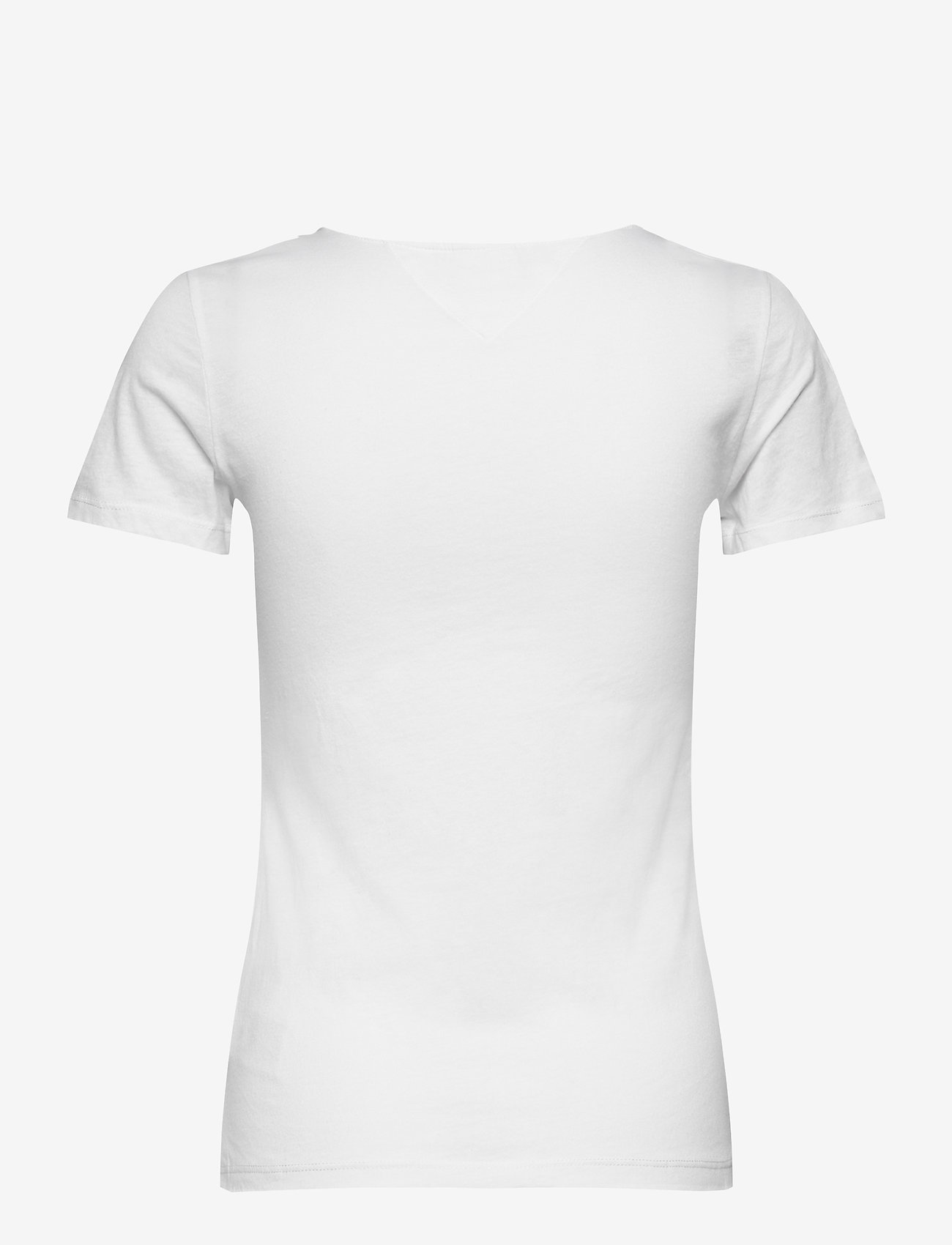 Tommy Jeans - TJW ESSENTIAL SKINNY LOGO TEE - t-shirts - white - 1