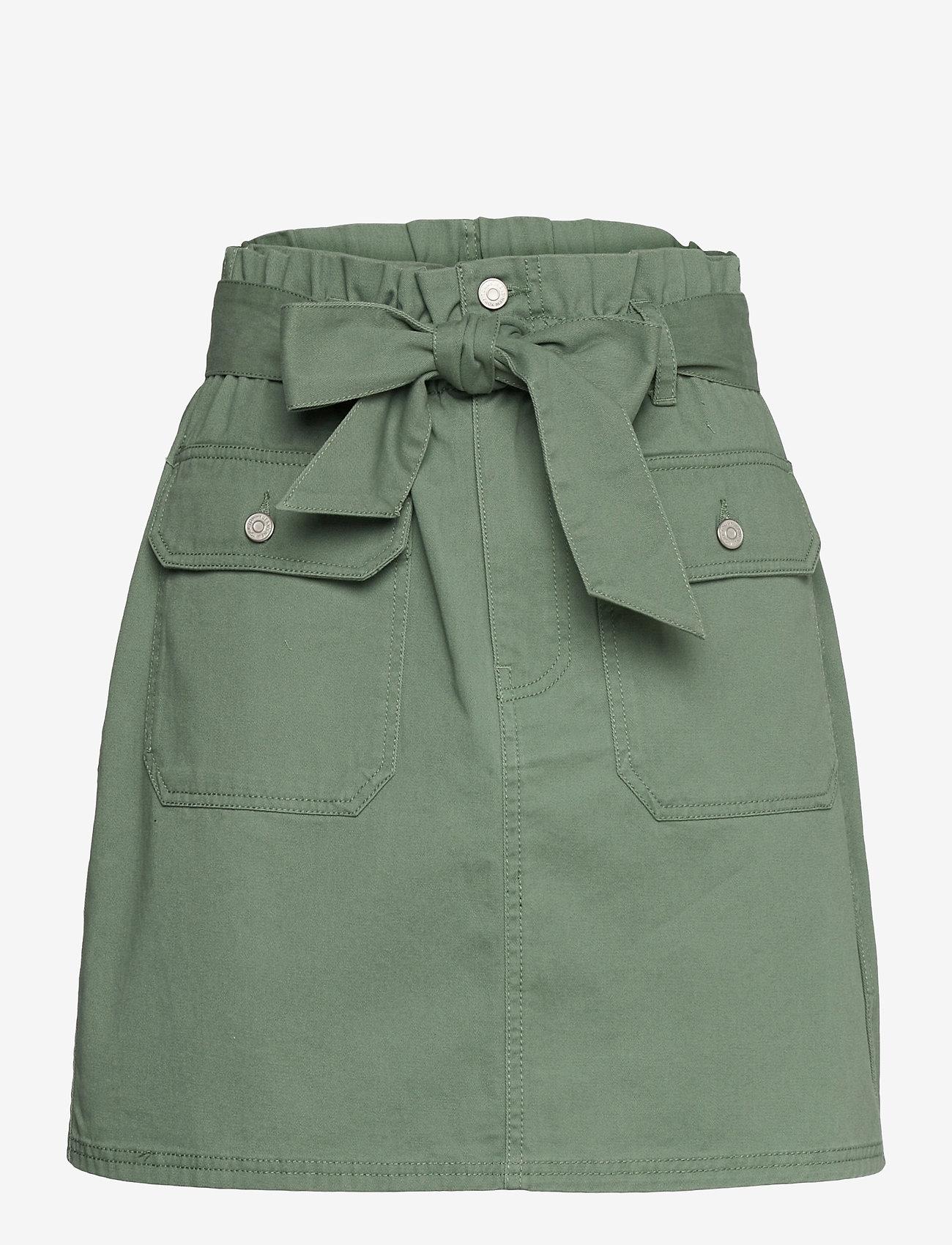 Tommy Jeans - TJW UTILITY MINI SKIRT - korta kjolar - desert olive - 0