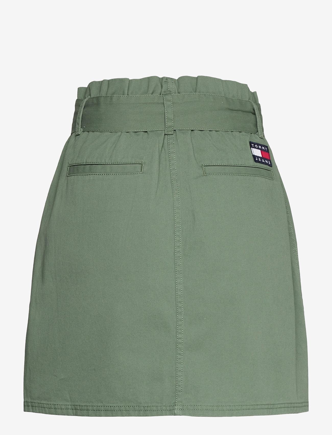 Tommy Jeans - TJW UTILITY MINI SKIRT - korta kjolar - desert olive - 1