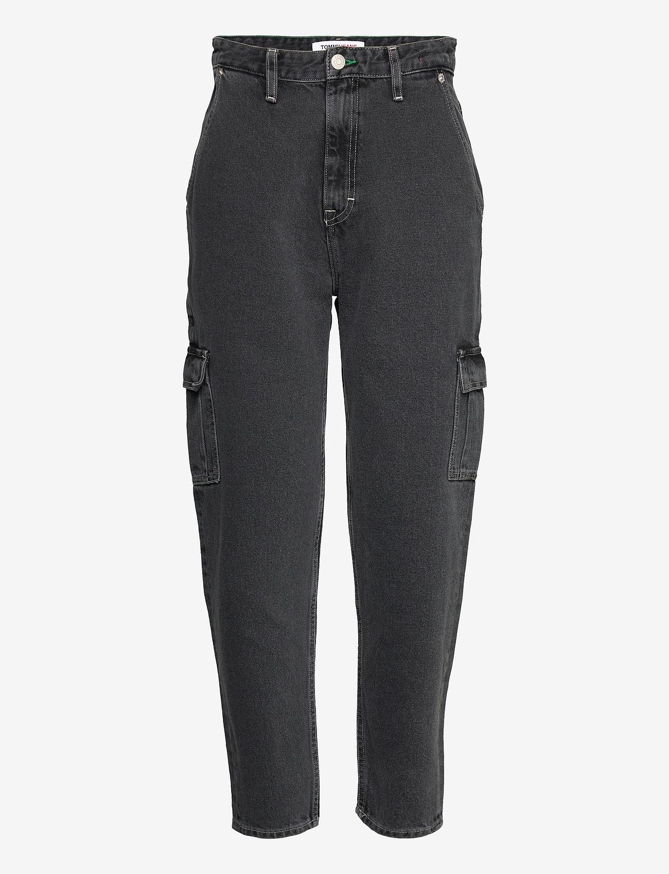 Tommy Jeans - MOM JEAN CARGO SVBKR - mom jeans - save ps bk rig - 0