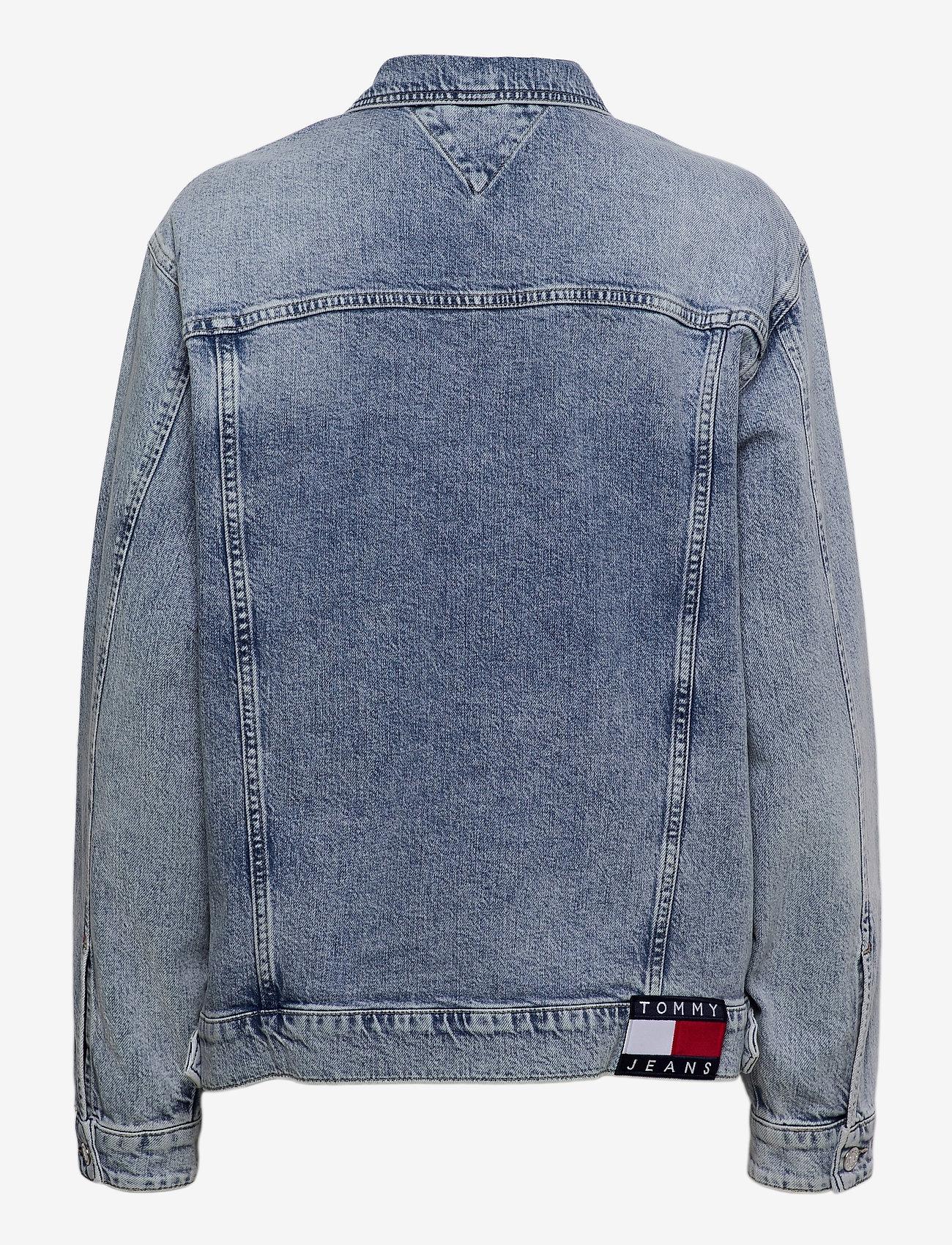 Tommy Jeans - OVERSIZE TRUCKER JACKET ALBC - denimjakker - ames lb com - 1
