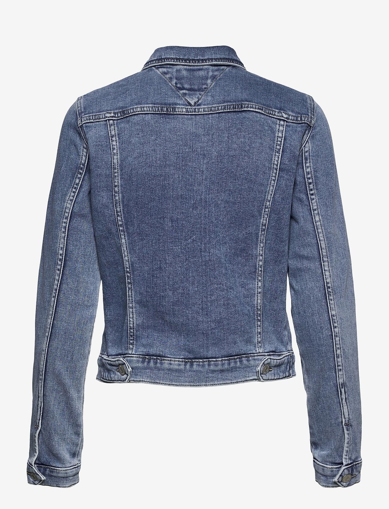 Tommy Jeans - VIVIANNE SLIM DENIM TRUCKER NLBS - jeansjackor - nancy lb str - 1