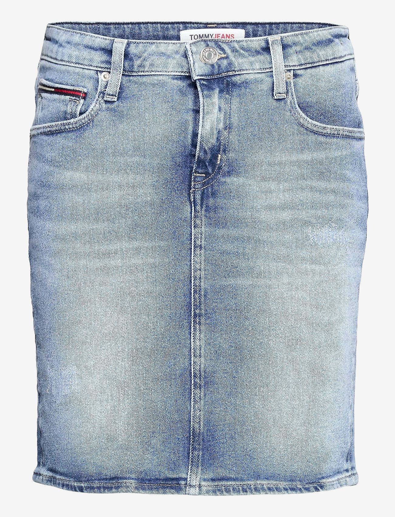 Tommy Jeans - CLASSIC DENIM SKIRT ALBS - jeanskjolar - arina lb str - 0
