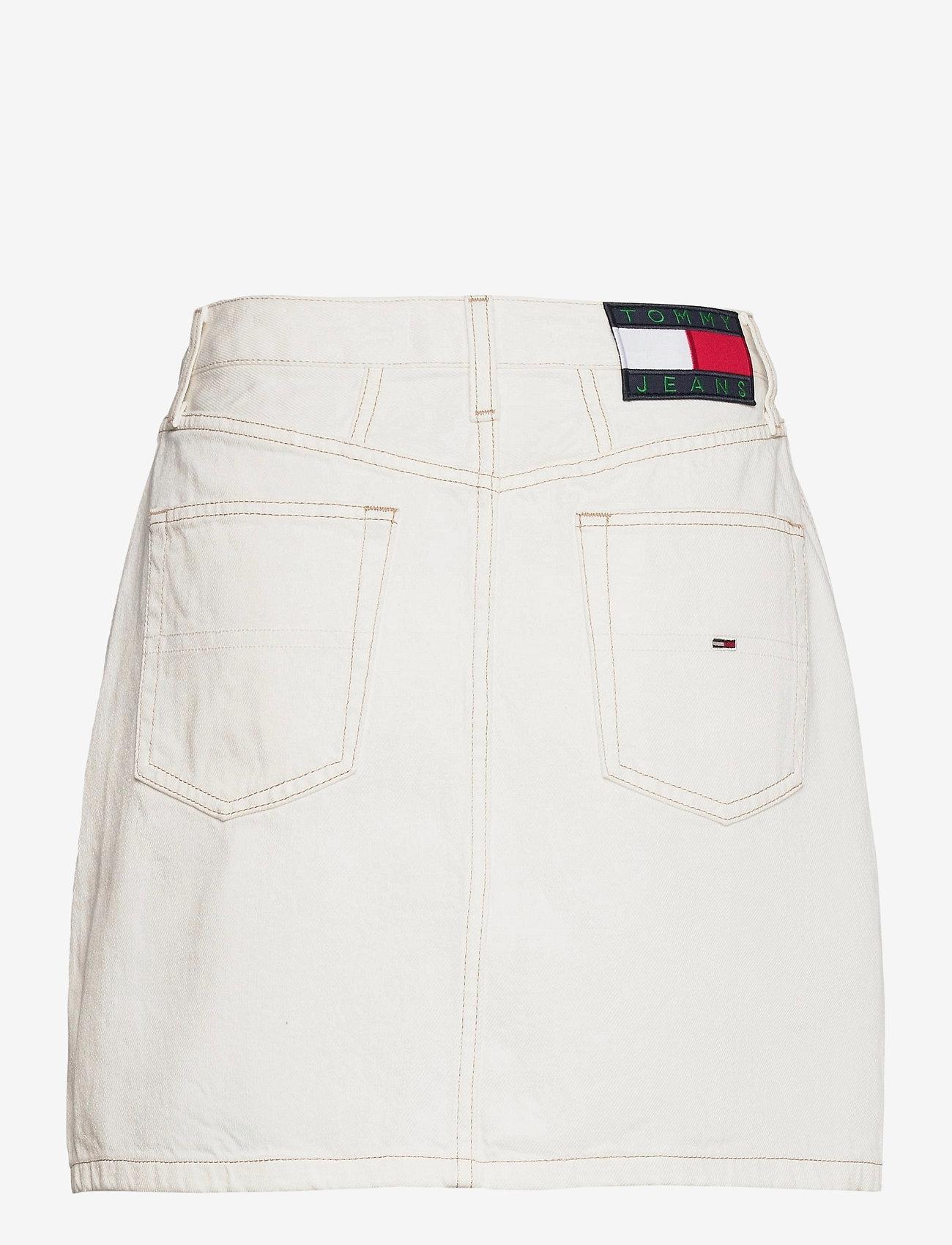 Tommy Jeans - A-LINE SHORT DENIM SKIRT SSPWR - jeanskjolar - save sp white rgd - 1